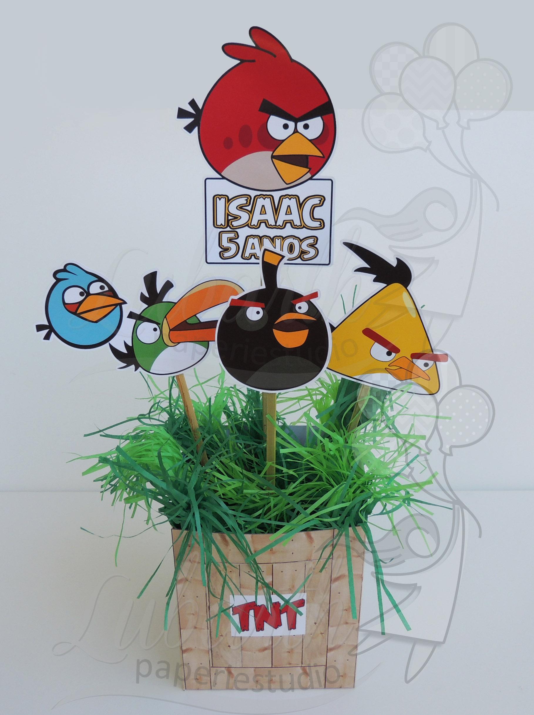 Pics Photos - Centro De Mesa Angry Birds Imagui