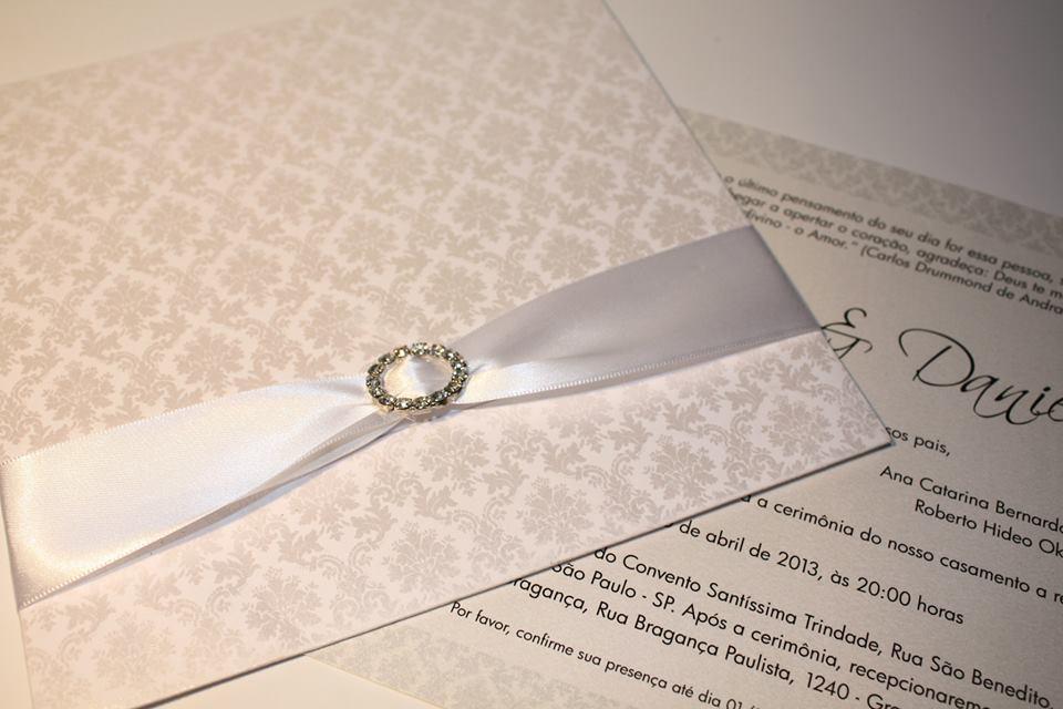 Convite arabesco metalizado carta lalita convites elo7 - Papel de empapelar barato ...