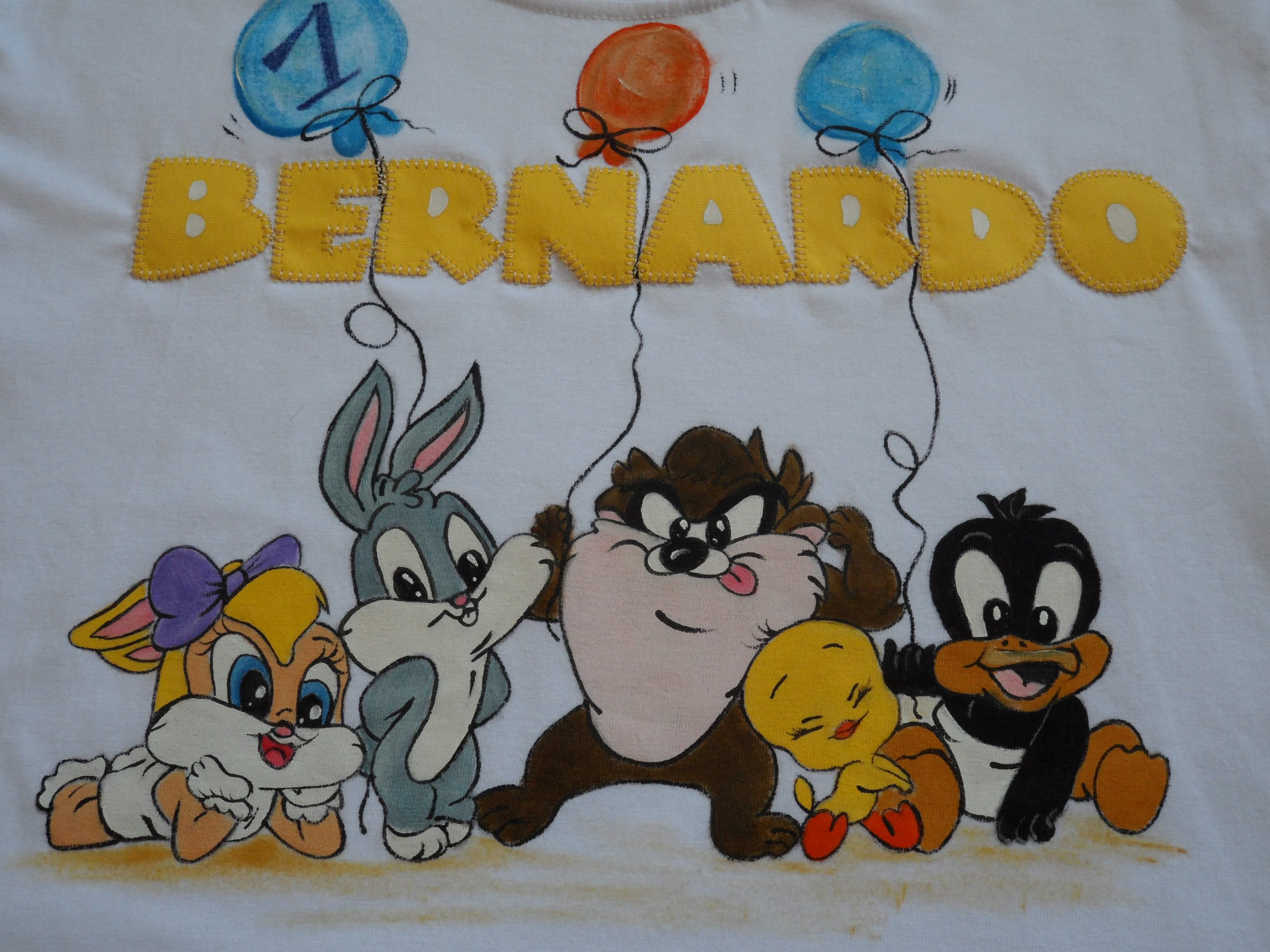Tapete Baby Looney Tunes : Infantil Baby Looney Tunes Camiseta Infantil Baby Looney Tunes