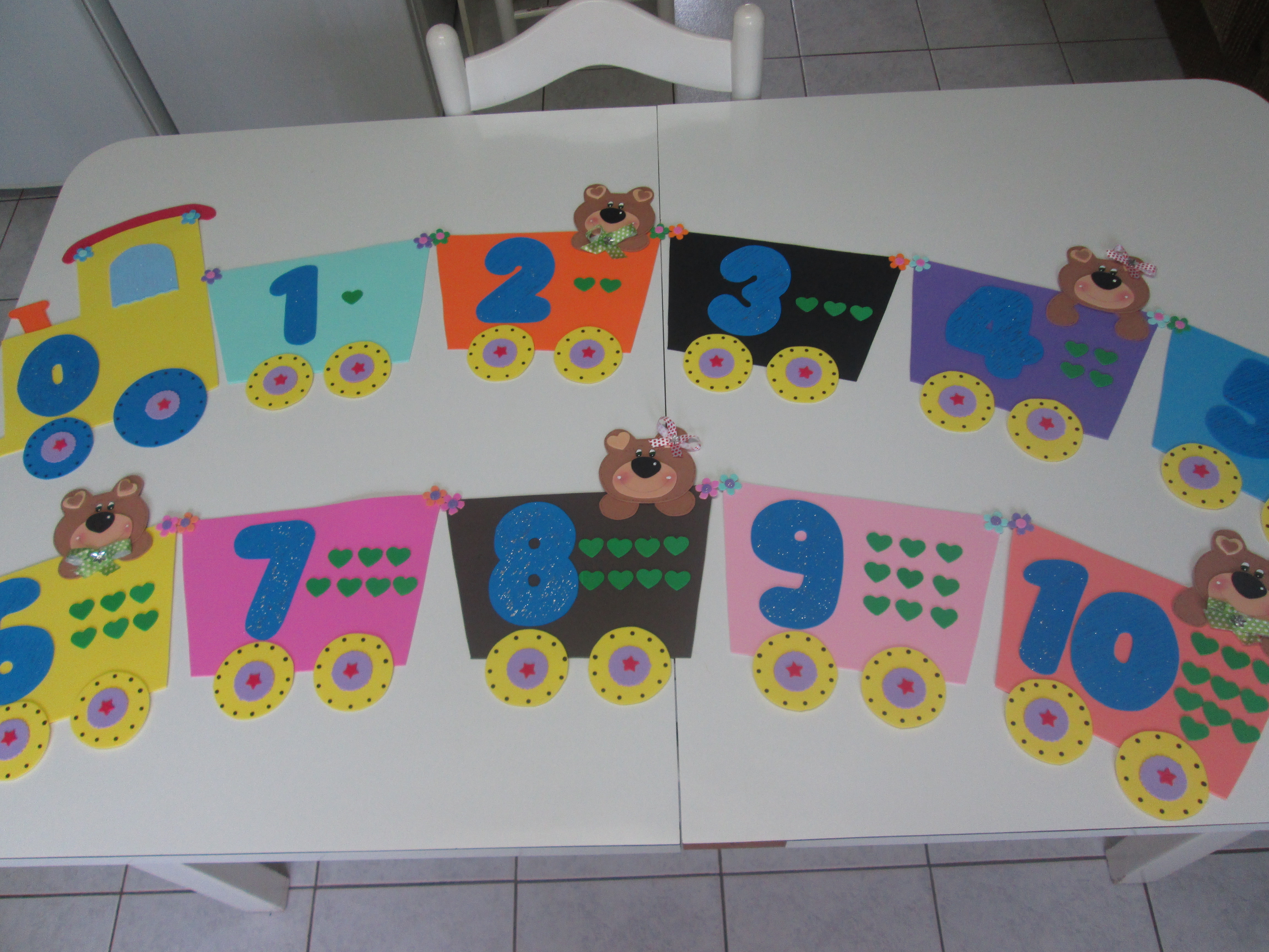 Decoracao De Sala Aula Em Eva ~ kit decoracao sala de aula ursinhos kit decoracao sala de