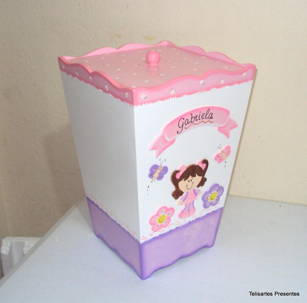 cesto de roupa menina rosa lilas cesto de reoupa cesto de roupa menina
