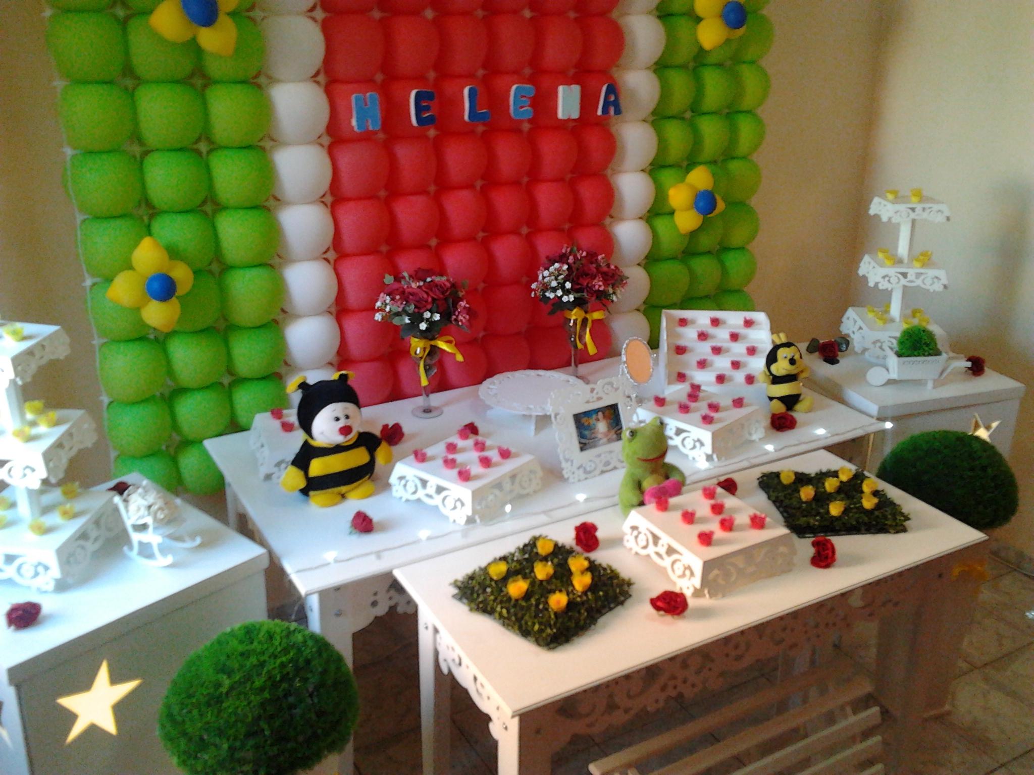 112. decoracao festa infantil jardim encantado provencal:decoracao  #3C740F 2048x1536