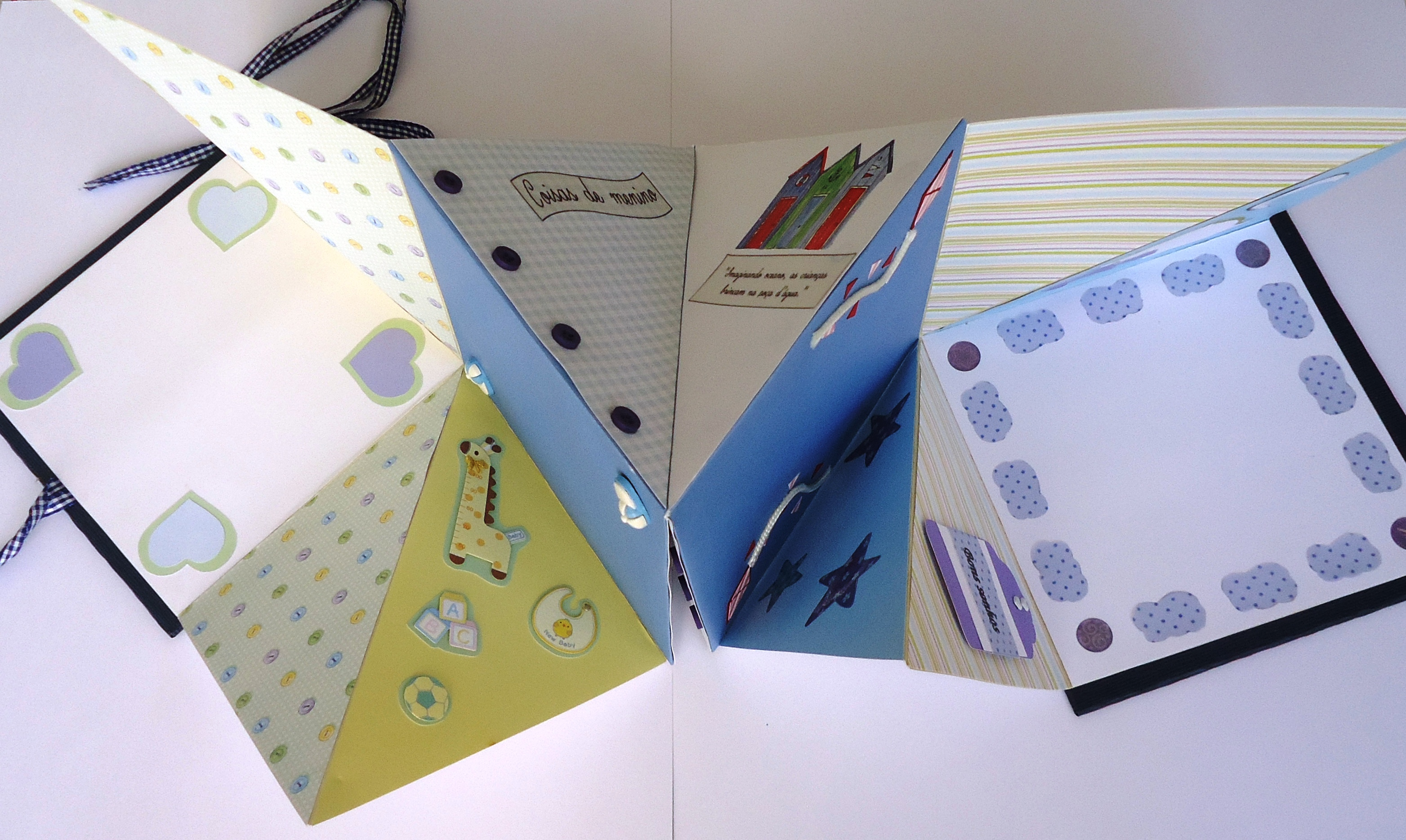 Álbum Dobradura em origami Baby Boy | FUNNY PAPER | Elo7 - photo#47
