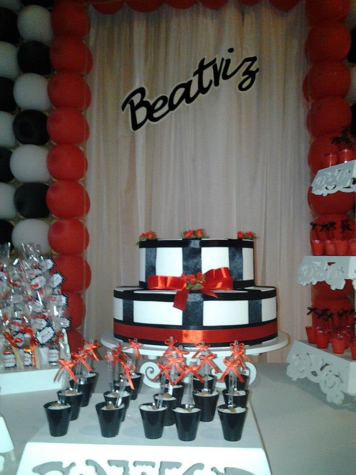 Decoracao De Sala Vermelho E Preto ~ branco preto e vermelho vermelhoepretoaniversario decoracaode