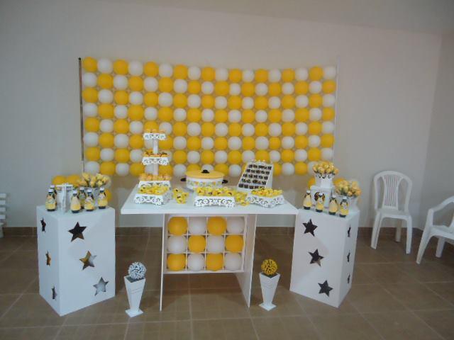 decoracao branco amarelo:decoracao-amarelo-e-branco-festa-amarelo-e-branco