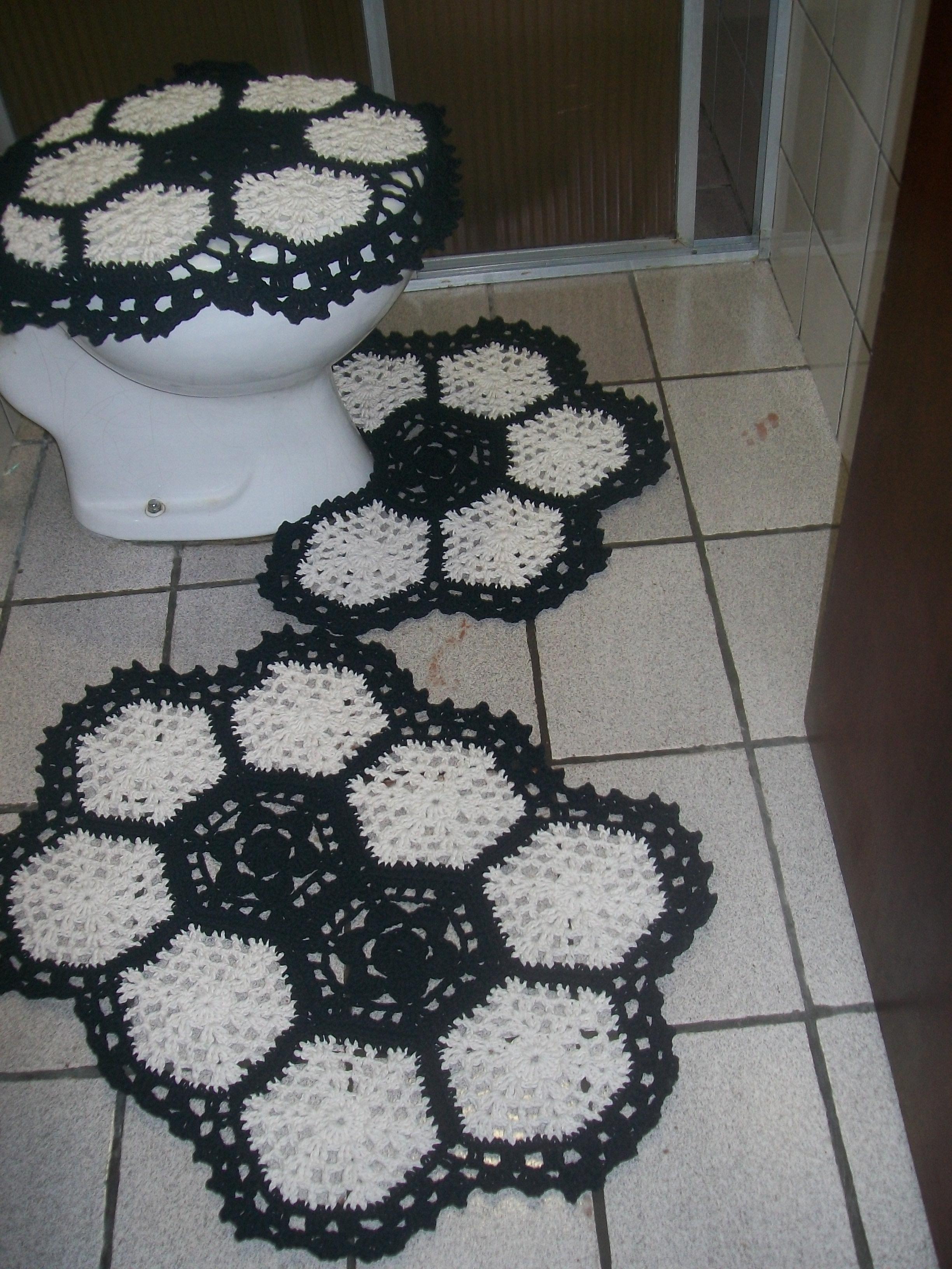 jogo de banheiro em barbante tapetes para banheiro.jpg #596572 2448x3264 Balança De Banheiro Frete Grátis