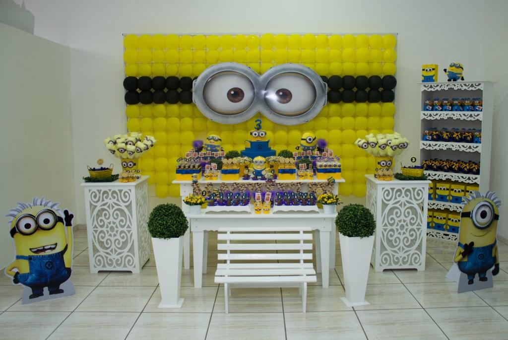 decoracao festa minions : decoracao festa minions:decoracao-minions-festa-minions decoracao-minions-festa-meu-malvado