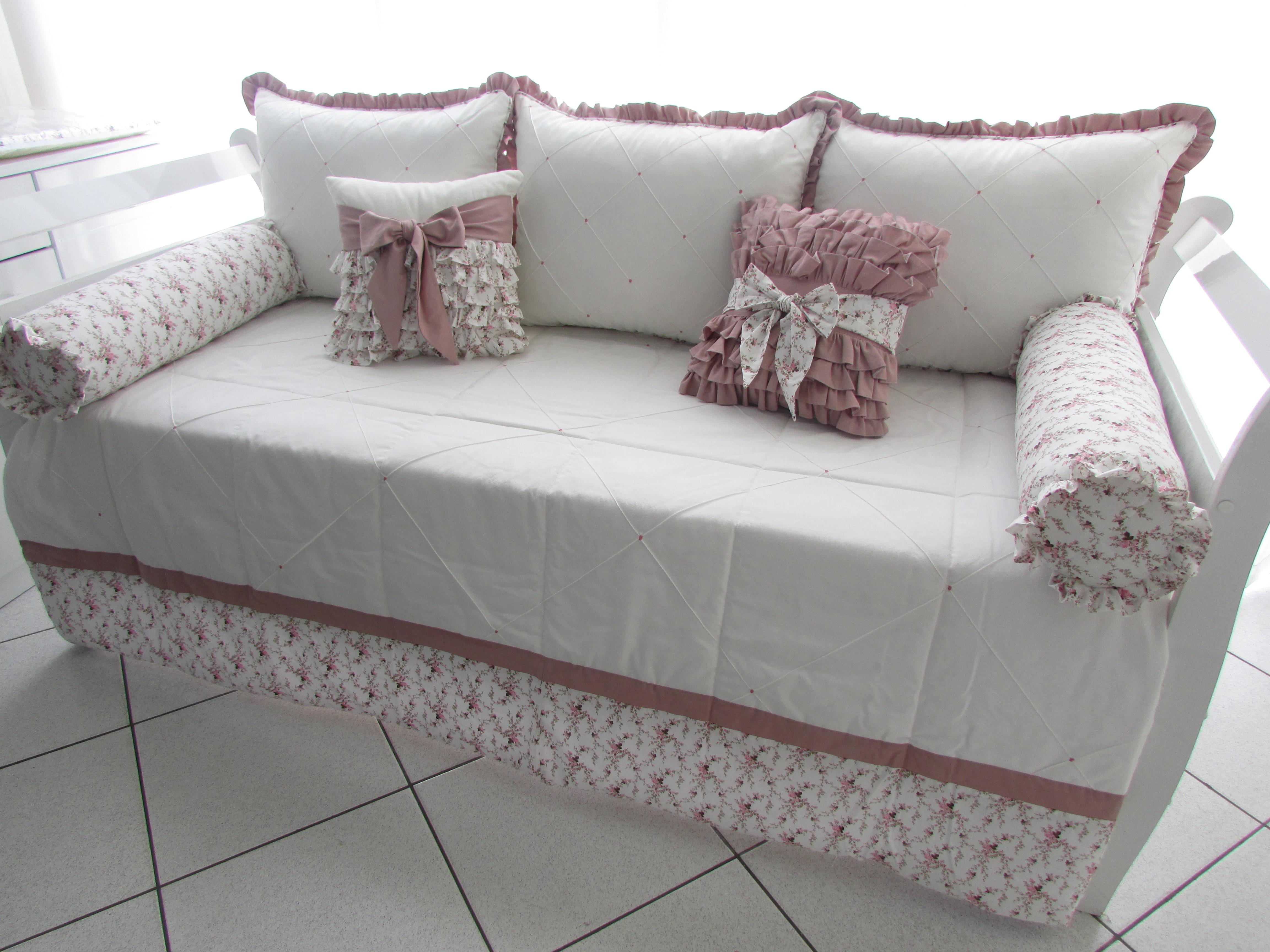Kit cama bab lara enxovais cordeirinho elo7 - Camas para bebe ...