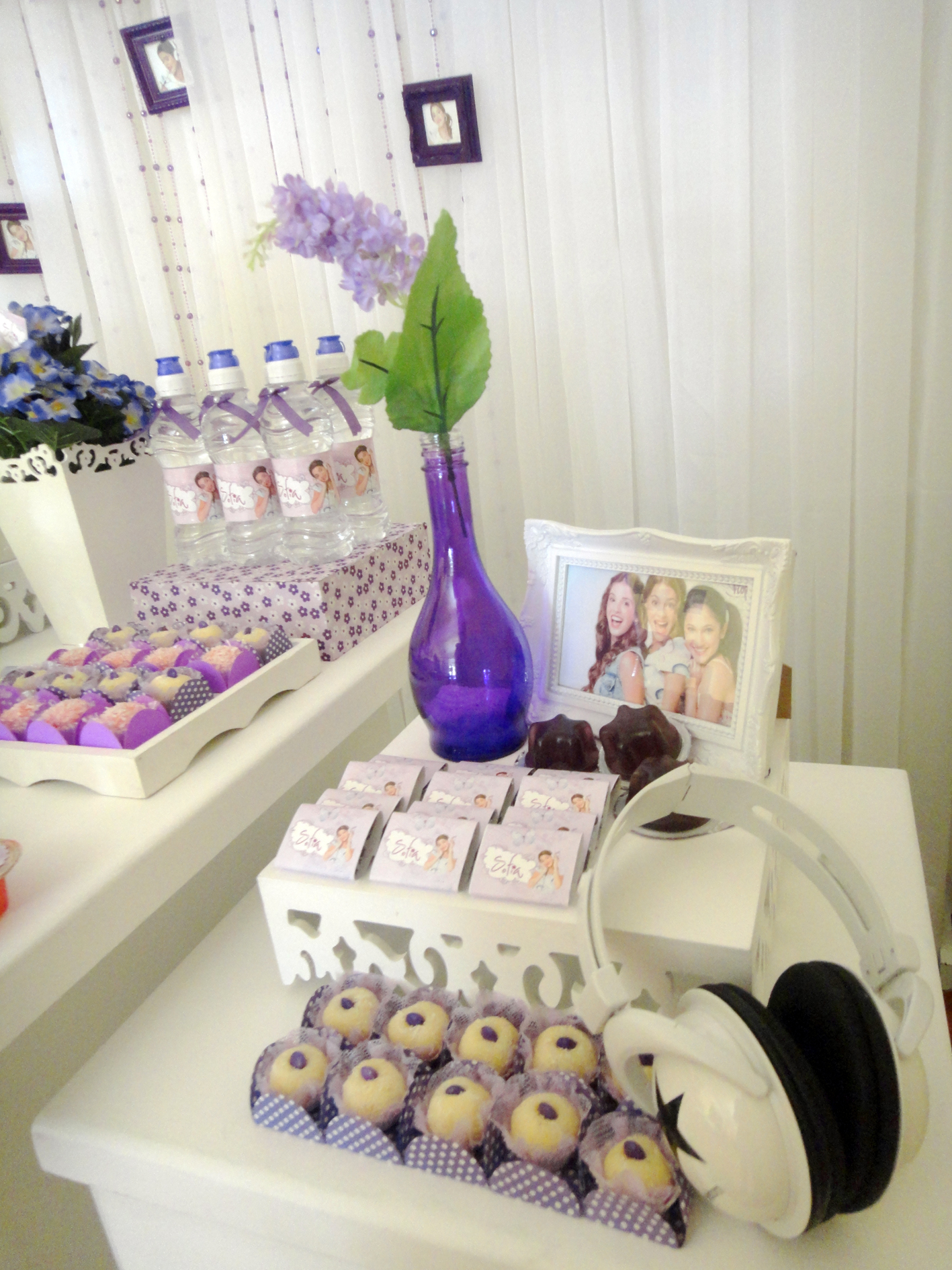 decoracao festa violeta:Sofia Festa Violetta Festa Violetta Da Sofia Decoracao Violetta Disney