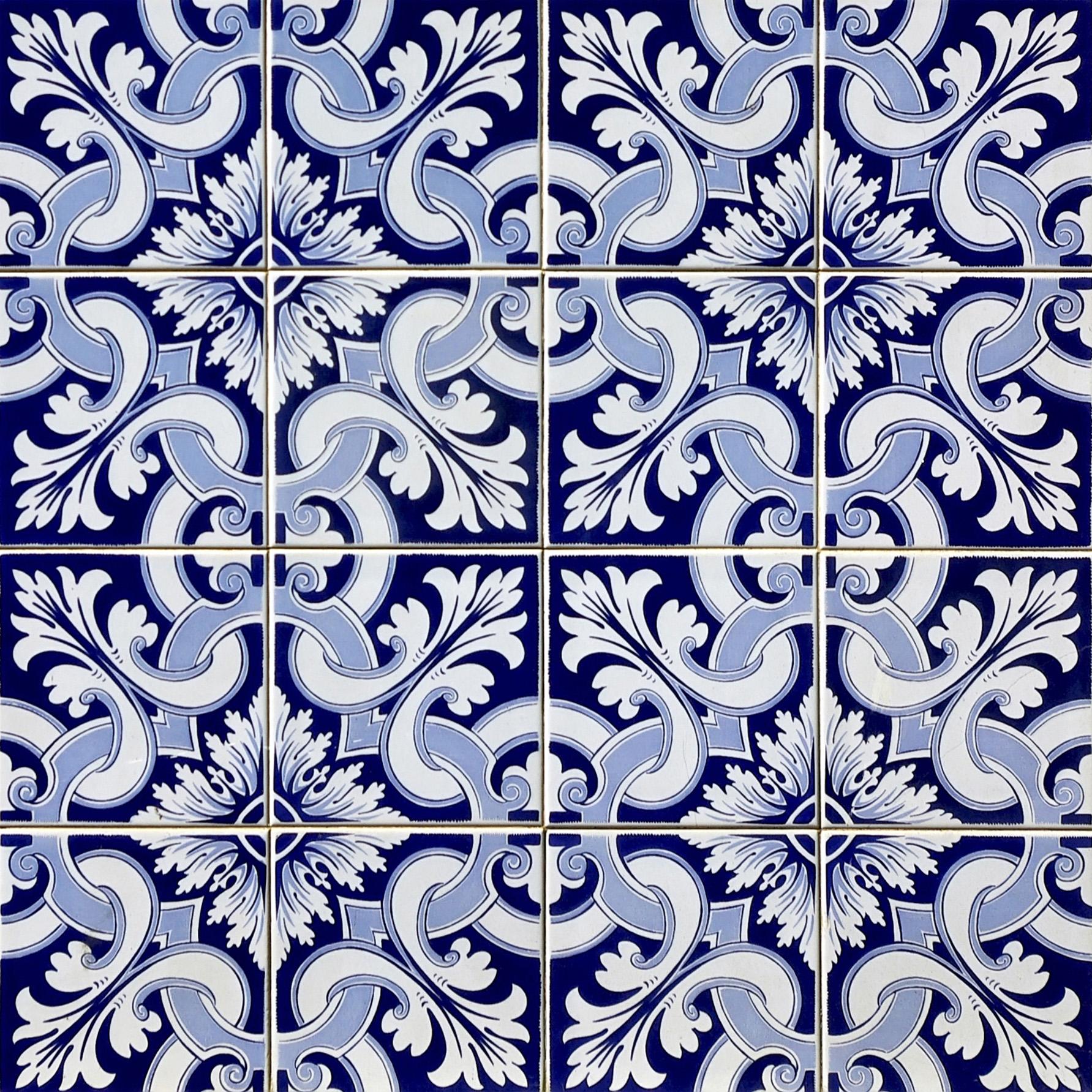 Azulejo Adesivo : AZ097 Arabesco Design Elo7 #040446 1783x1783 Azulejo Banheiro Parede