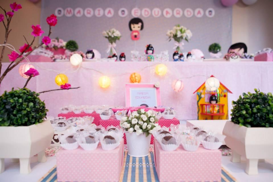 decoracao festa kokeshi:decoracao de festa tema kokeshis festa japonesa decoracao de festa