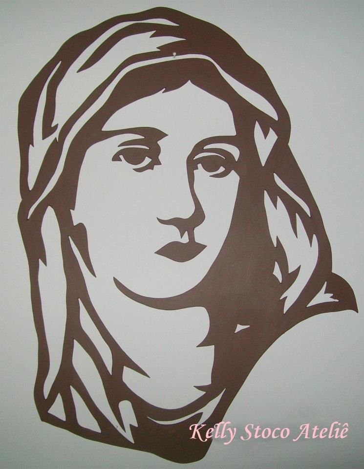 Armario Planejado Para Quarto Casal Pequeno ~ Quadro Vazado Rosto de Maria