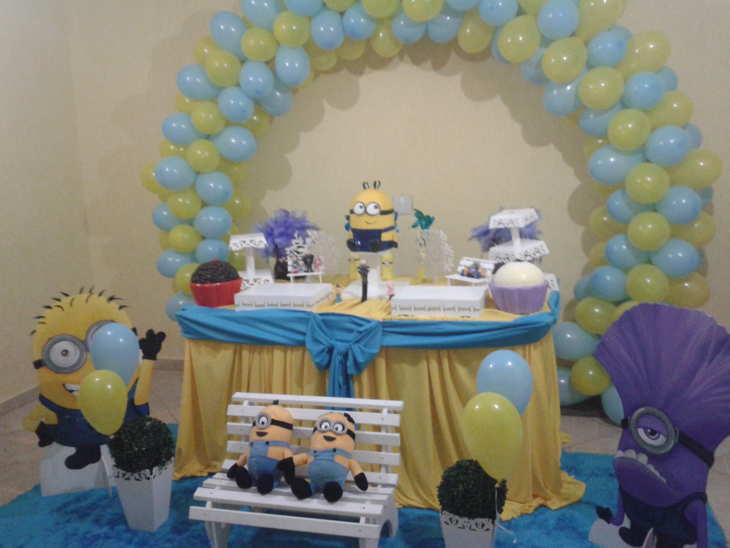 decoracao festa minions:Minions Decoração Provençal Minions Decoração Provençal Minions