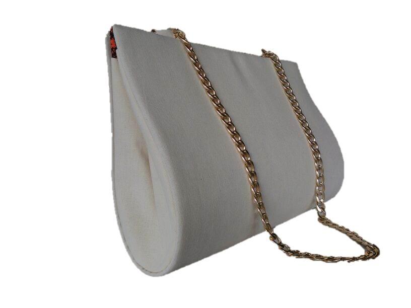 Bolsa De Tecido De Algodão Cru : Bolsa de algod?o cru leticia artesanato elo