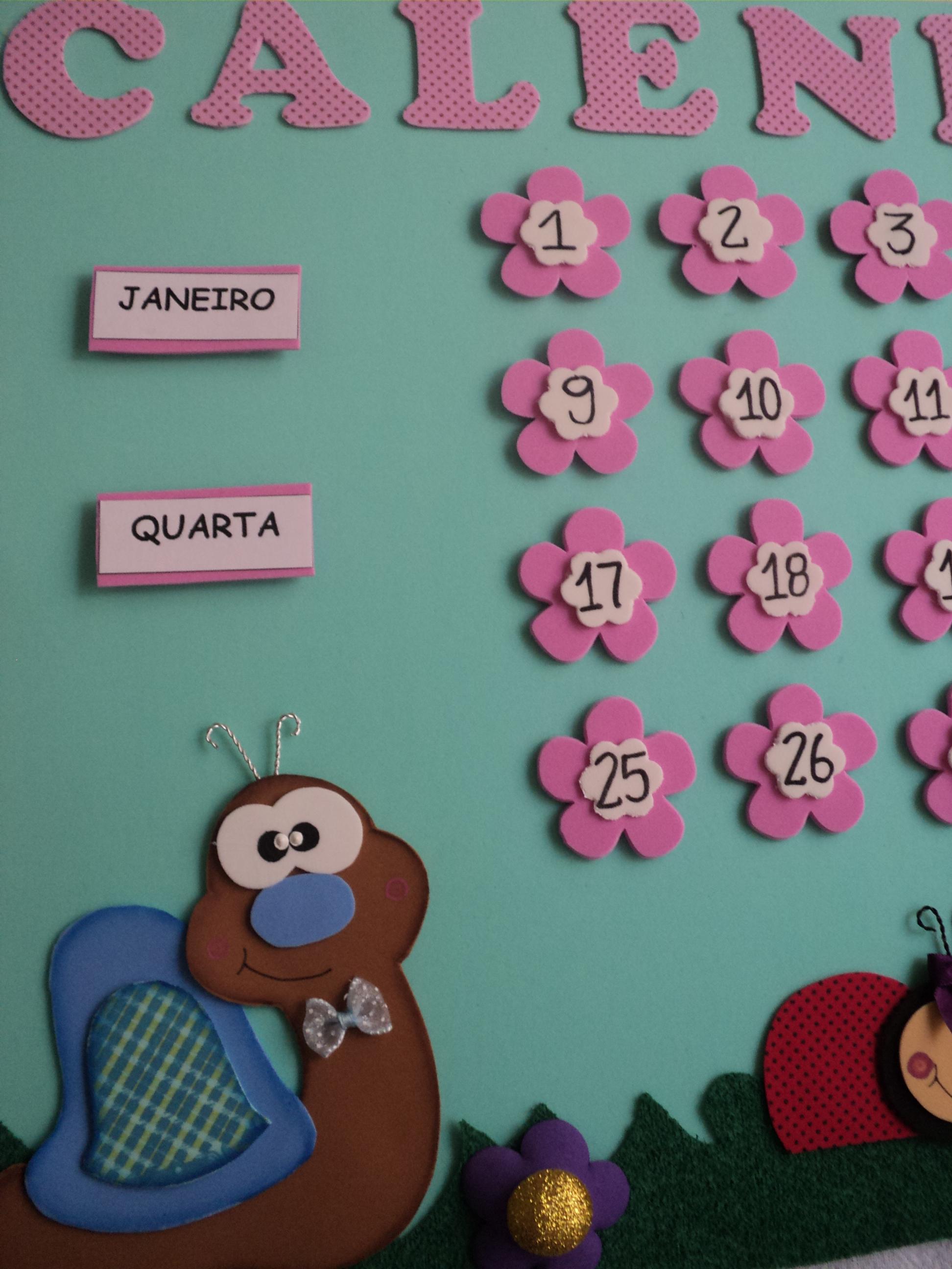 decoracao sala de aula jardim encantado: bichinhos do jardim infantil calendario bichinhos do jardim decoracao