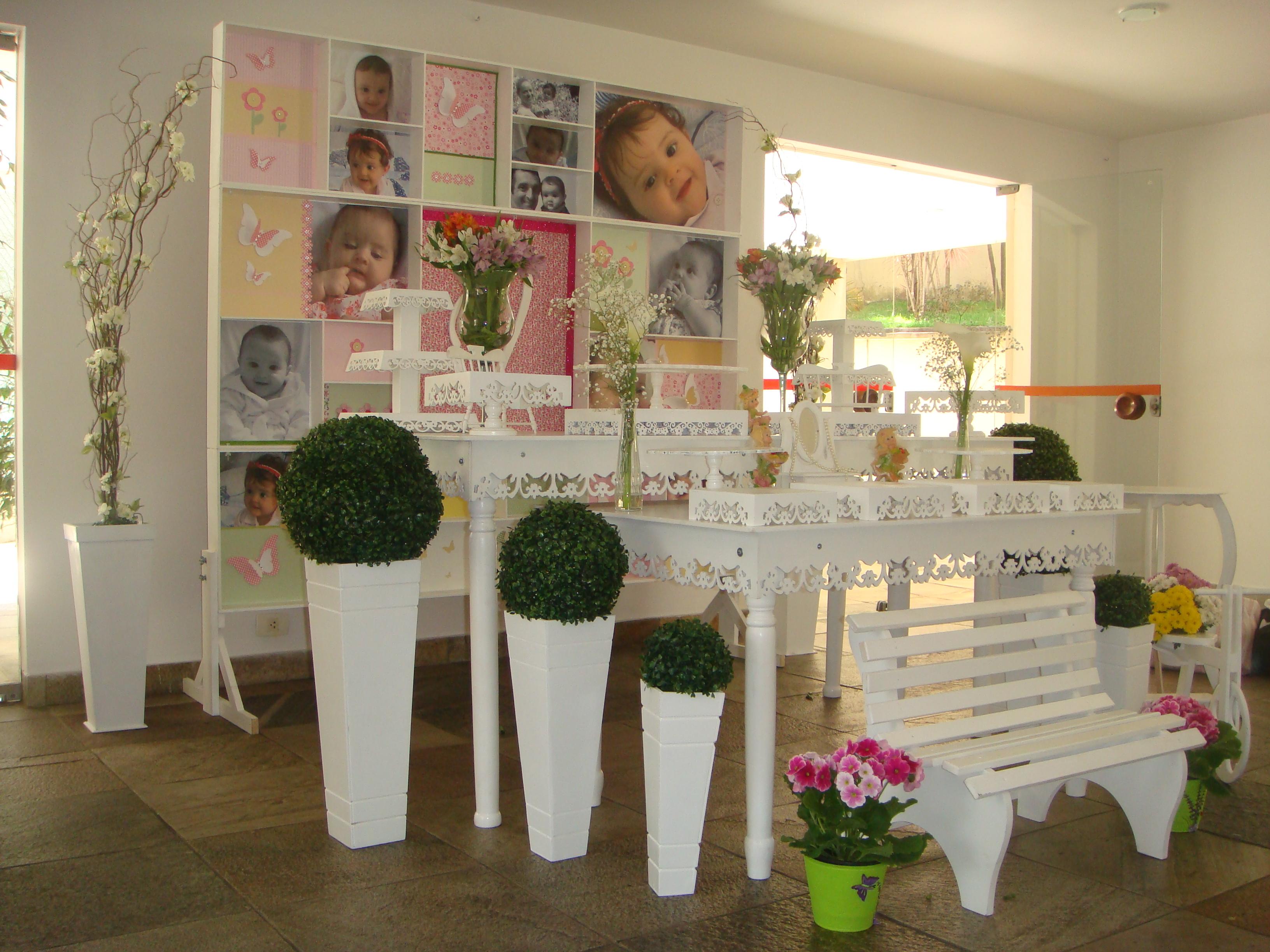 Festa Infantil Jardim Encantado Decoracao Provencal