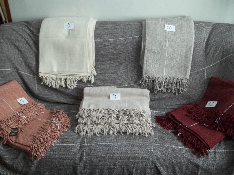 Colcha de solteiro manta sof 3 lbum ferroart s barbante e ferro elo7 - Colchas para sofas baratas ...