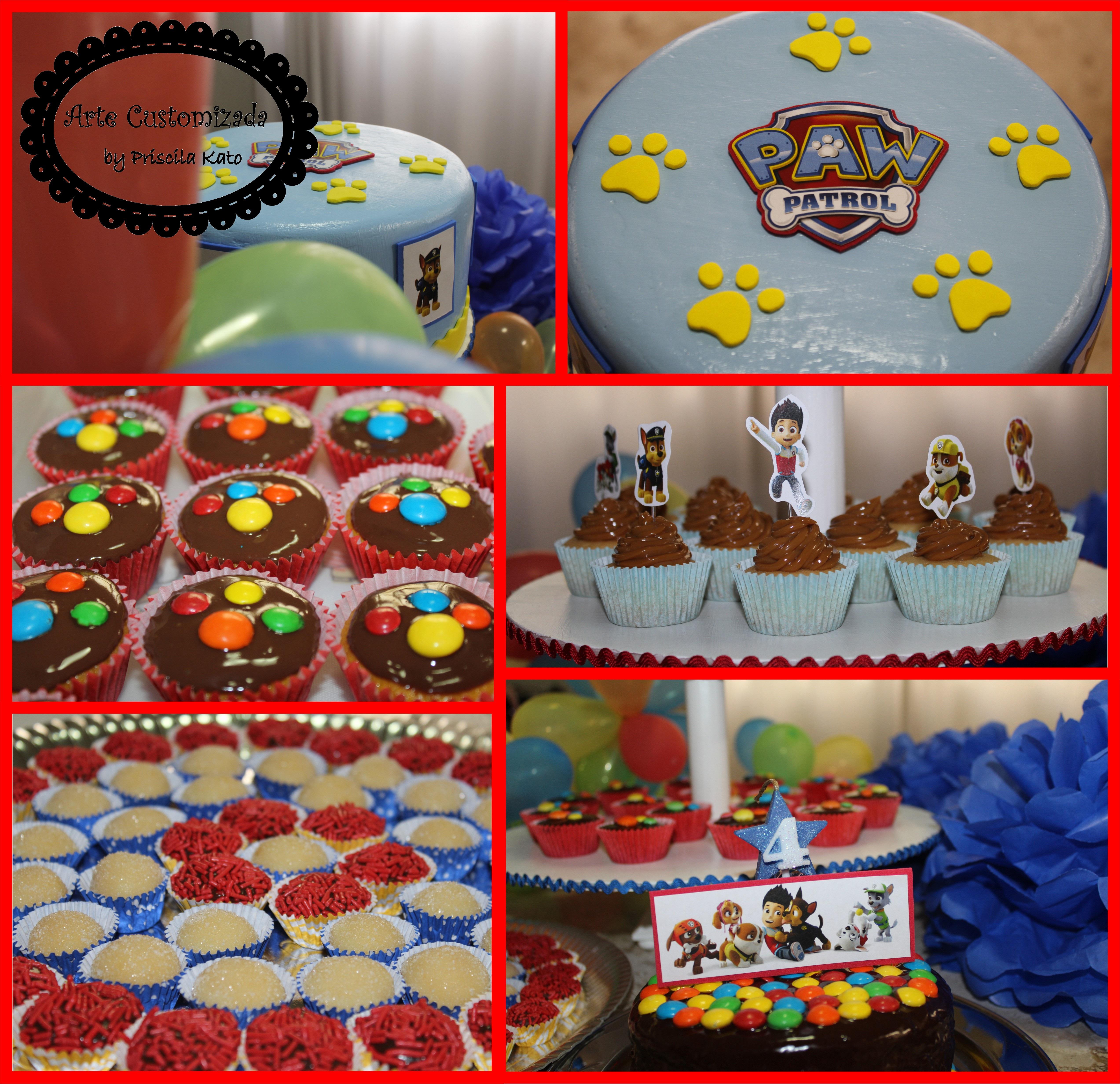decoracao festa infantil patrulha canina : decoracao festa infantil patrulha canina:bolo-cenografico-patrulha-canina-patrulha-canina