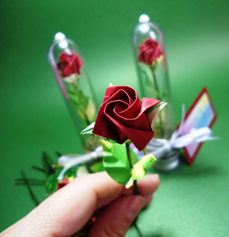 pin origami de rosa como fazer on pinterest