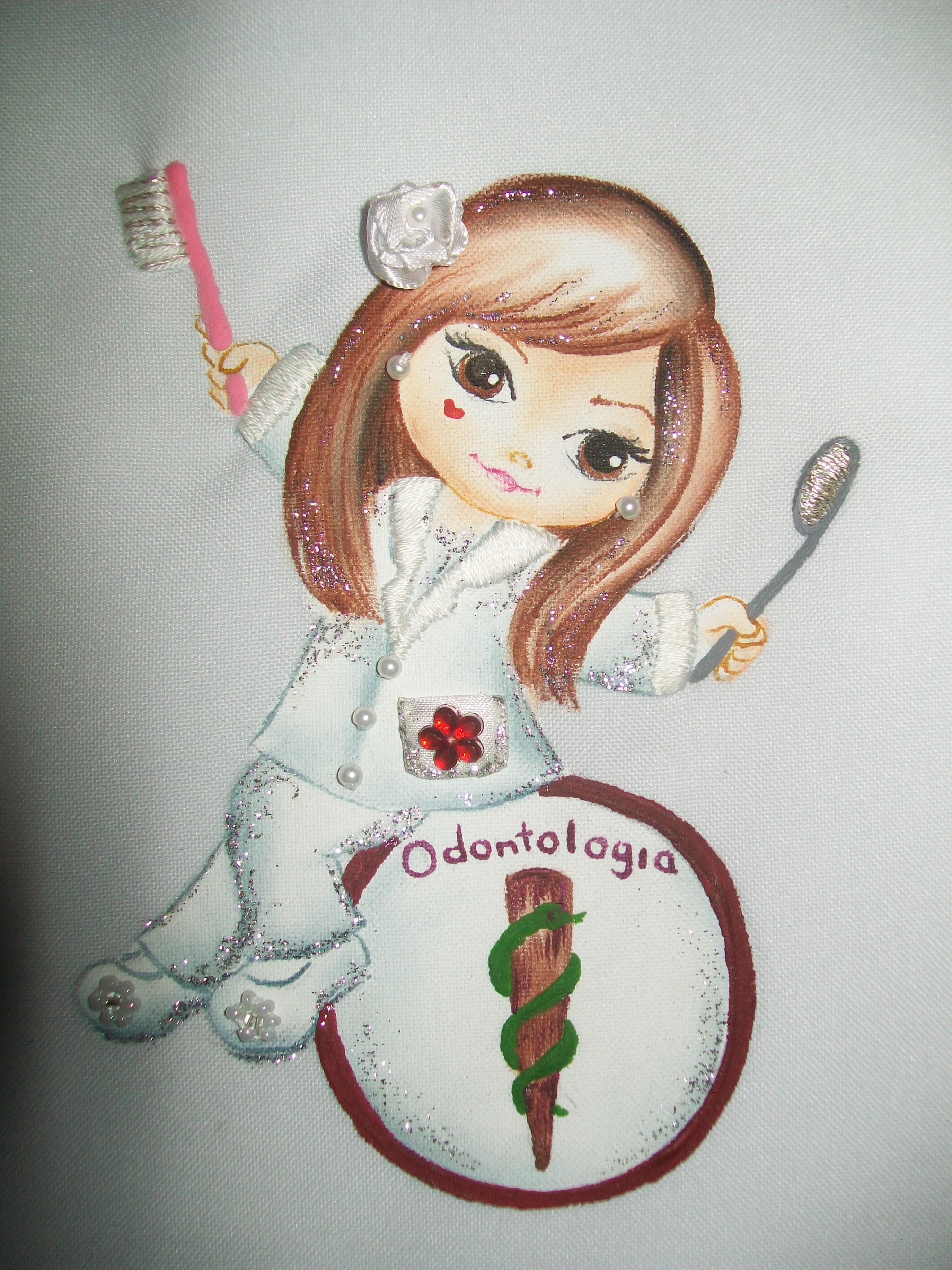 Jaleco Odontologia Personalizado Bazar M 227 Os De Anjo Elo7