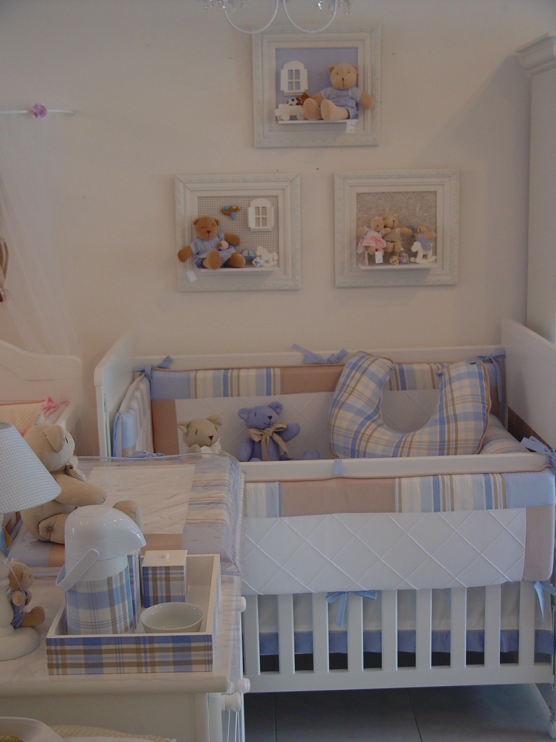 20170222163650_quarto De Bebe Masculino Bege E Azul Beigit Com ~ Poltrona Para Quarto Infantil E Decoração Simples Quarto