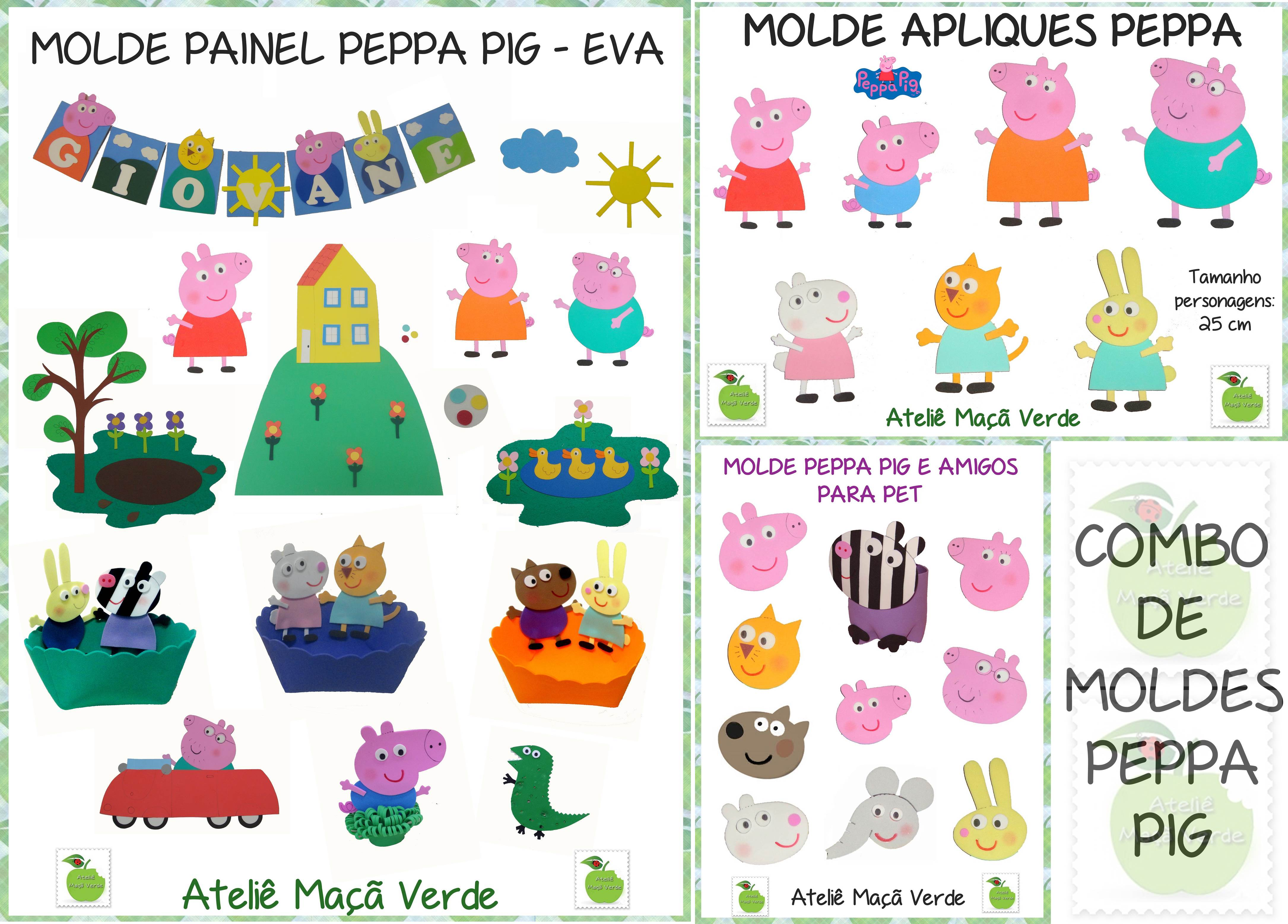 Moldes Peppa Pig Cake Ideas And Designs