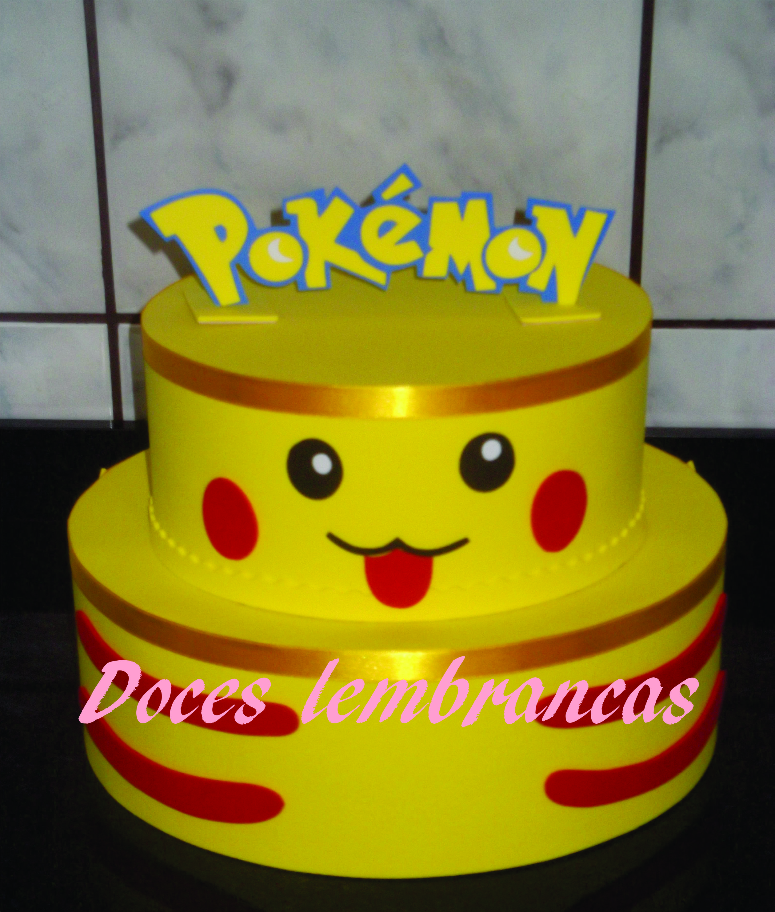 Bolo Decorado Pokemon para o Lucas | | Boutique …