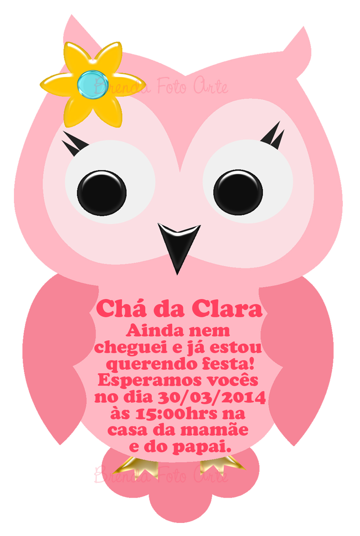 convite digital circo menina camila gama produ u00e7 u00f5es elo7 owl clip art owls clip art pictures