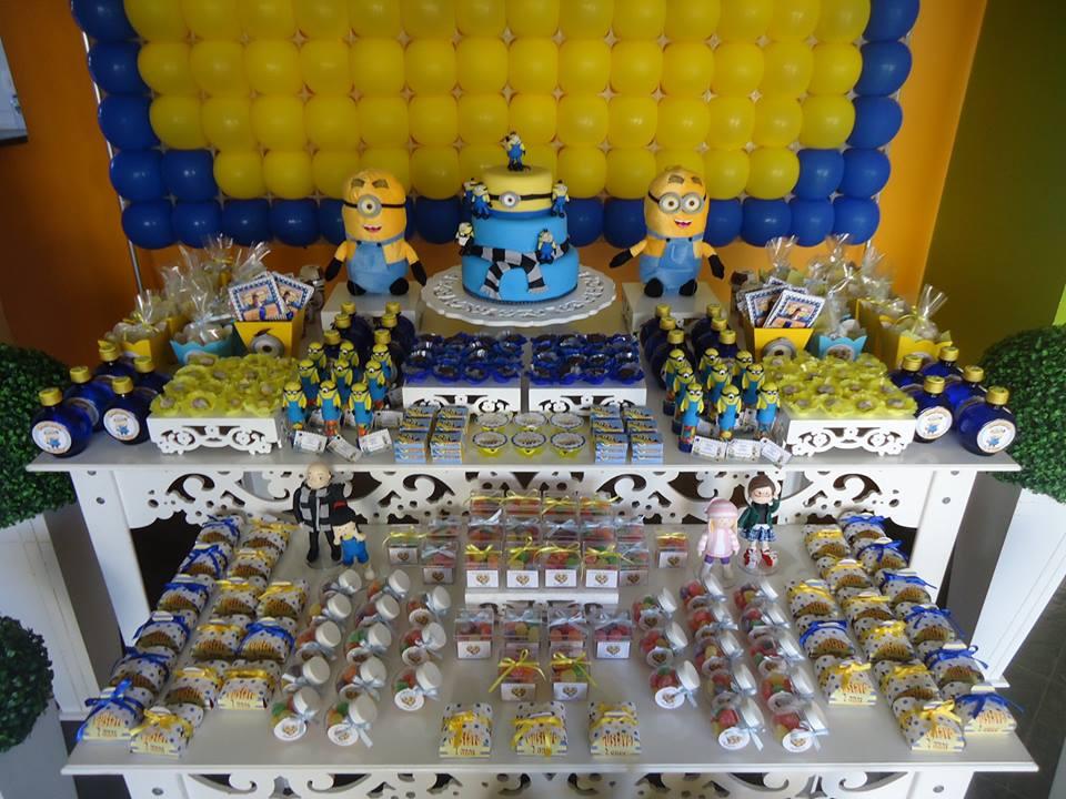 decoracao festa minions:provençal – tema: Minions Decoração provençal – tema: Minions