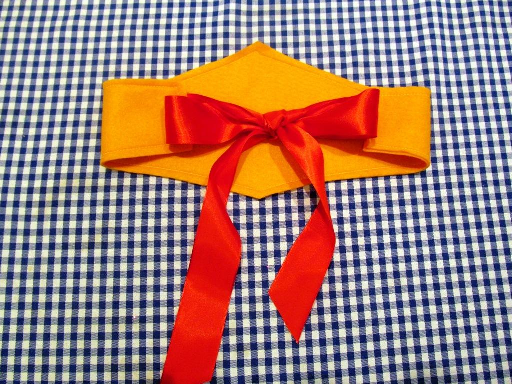 kit mulher maravilha tiara cintur o brac atelier pequeno