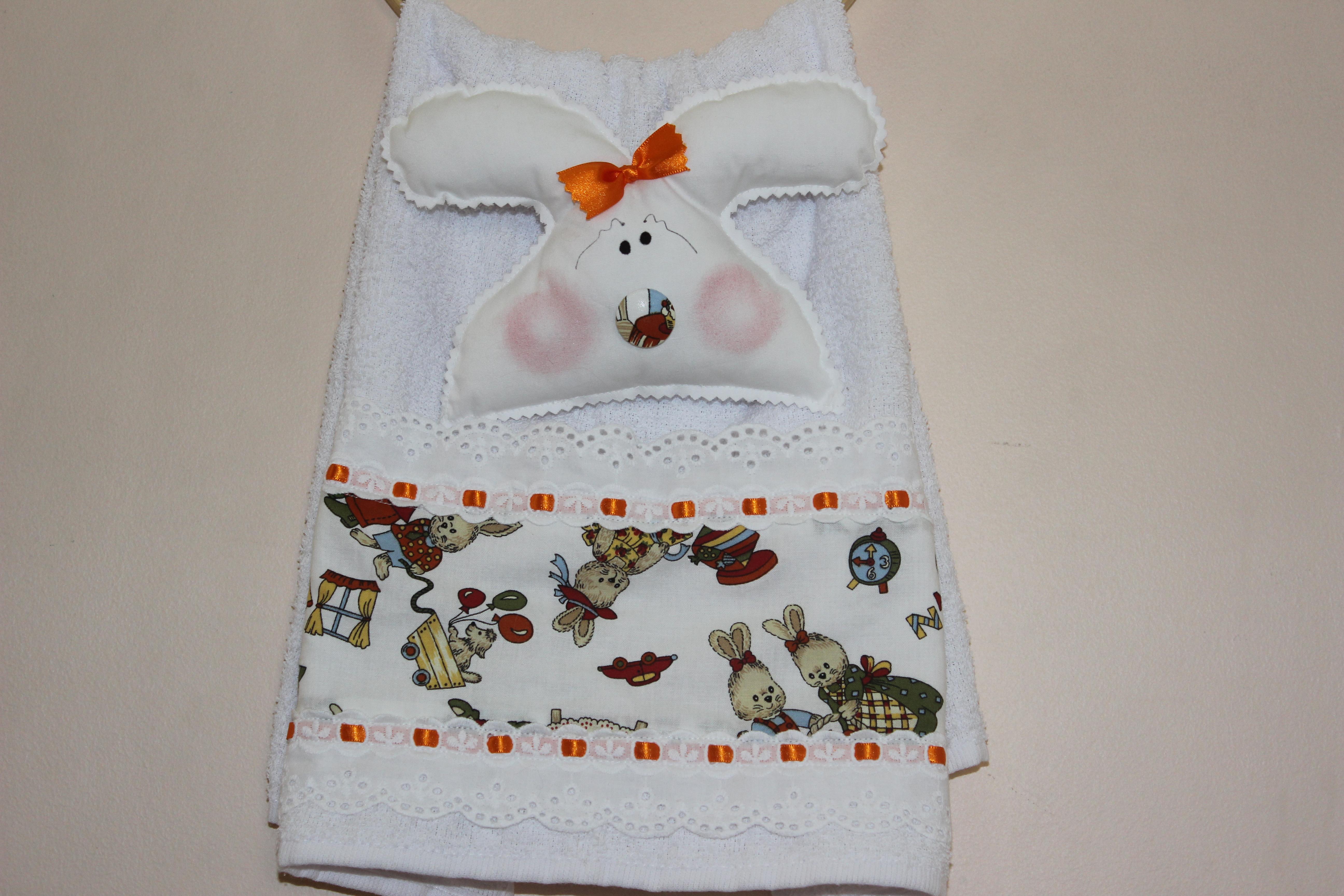 decoracao toalha lavabo:toalha-para-lavabo-decoracao-de-pascoa-coelho toalha-para-lavabo