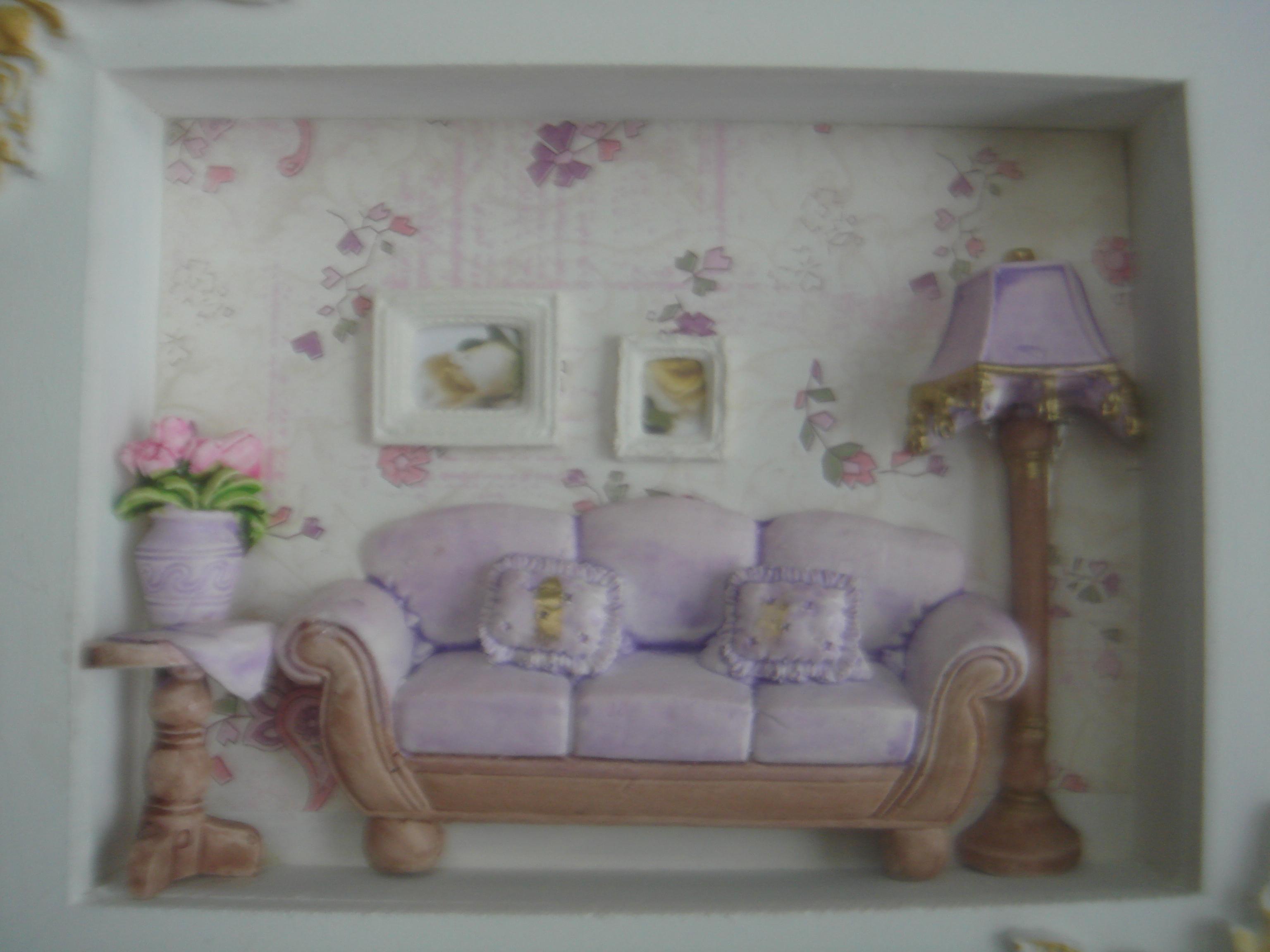 Quadro decorativo sala de estar atelie dagmar elo7 for Sala de estar quadro
