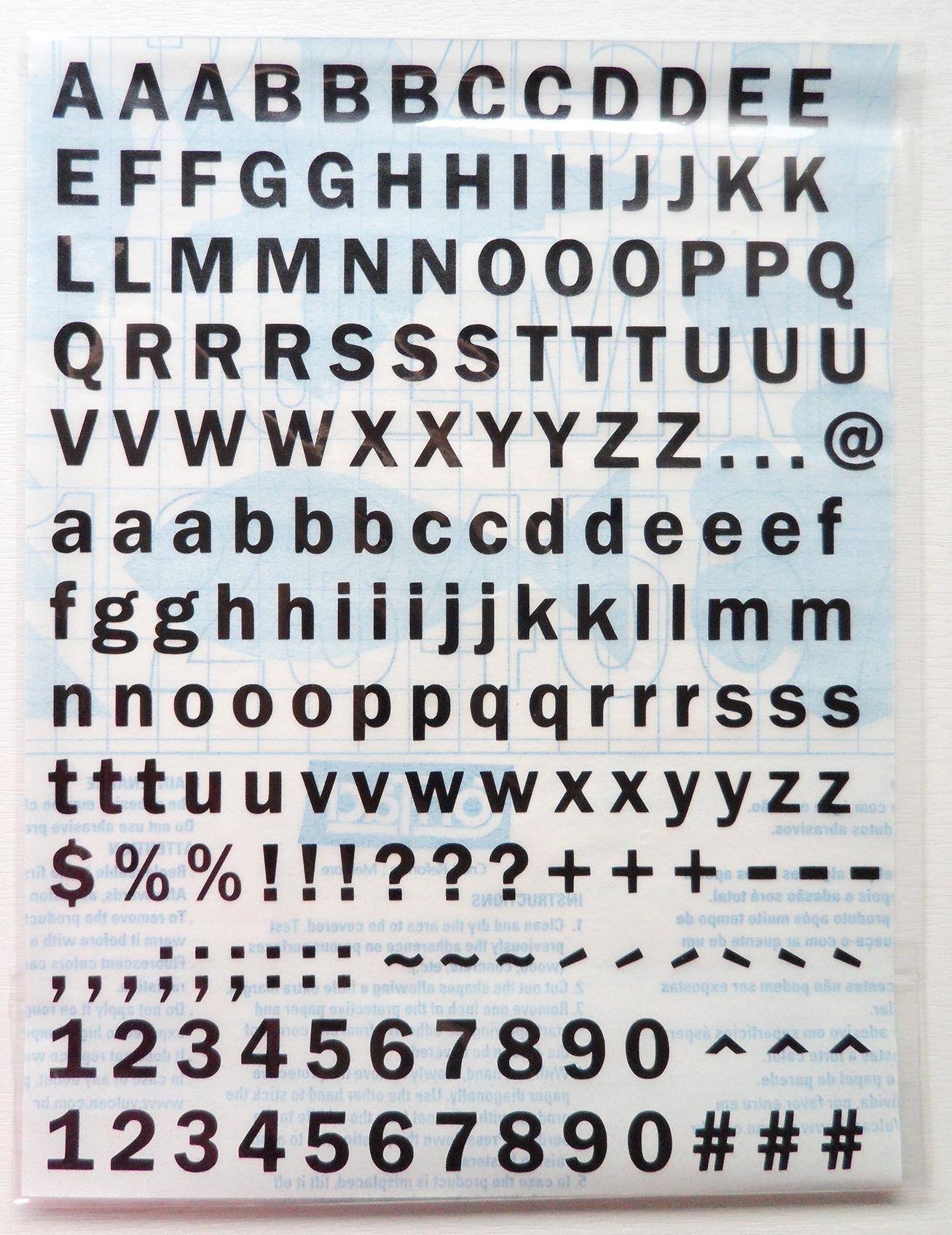 Armario Antiguo Restaurado ~ Alfabeto Adesivo Liso Necessaire de Mulher Elo7