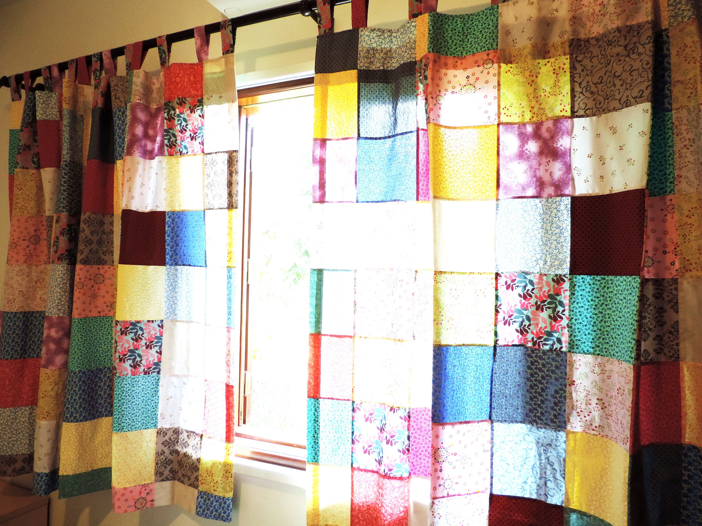 cortinas de patchwork imagui