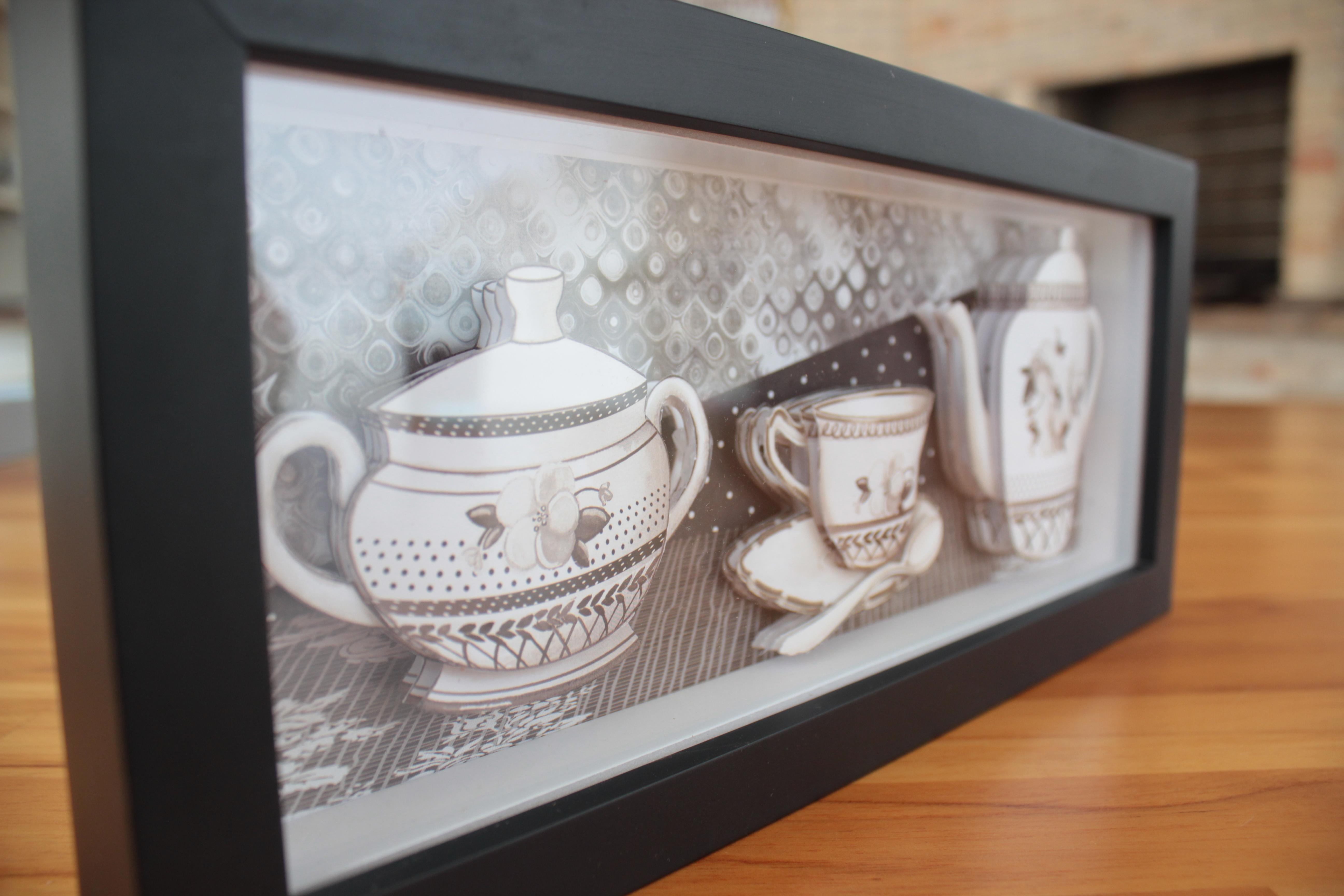 decoracao cozinha francesa:quadro-de-cozinha-em-arte-francesa-3d-decoracao-de-cozinha