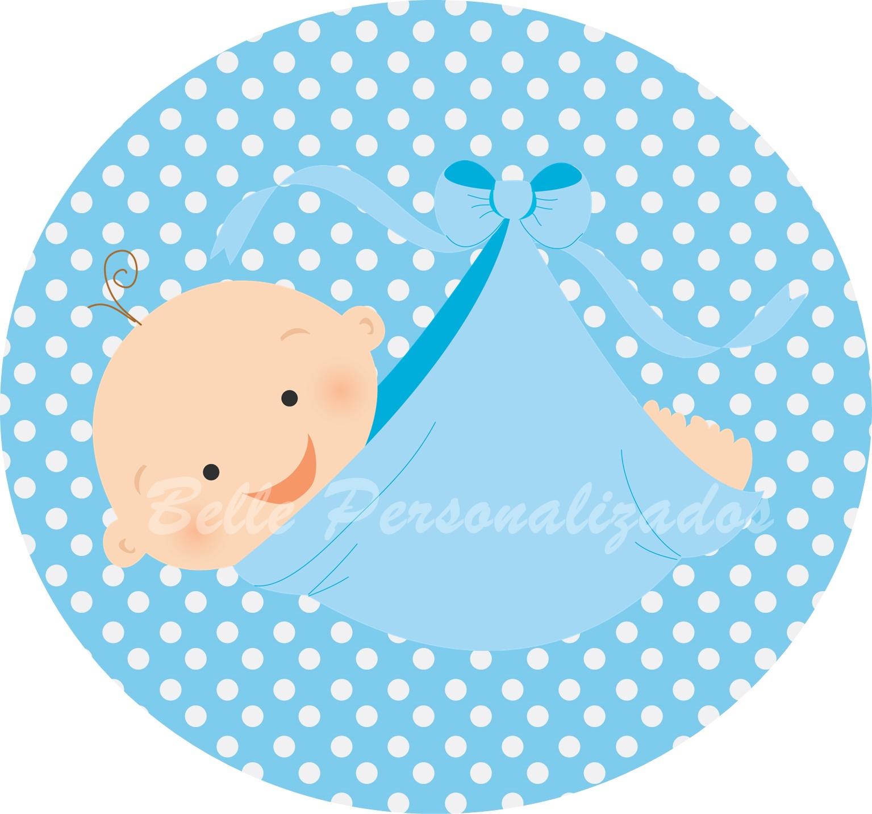 Feira Artesanal Vila Do Conde ~ Rótulo adesivo chá de beb u00ea menino Fábulas de Papel Elo7