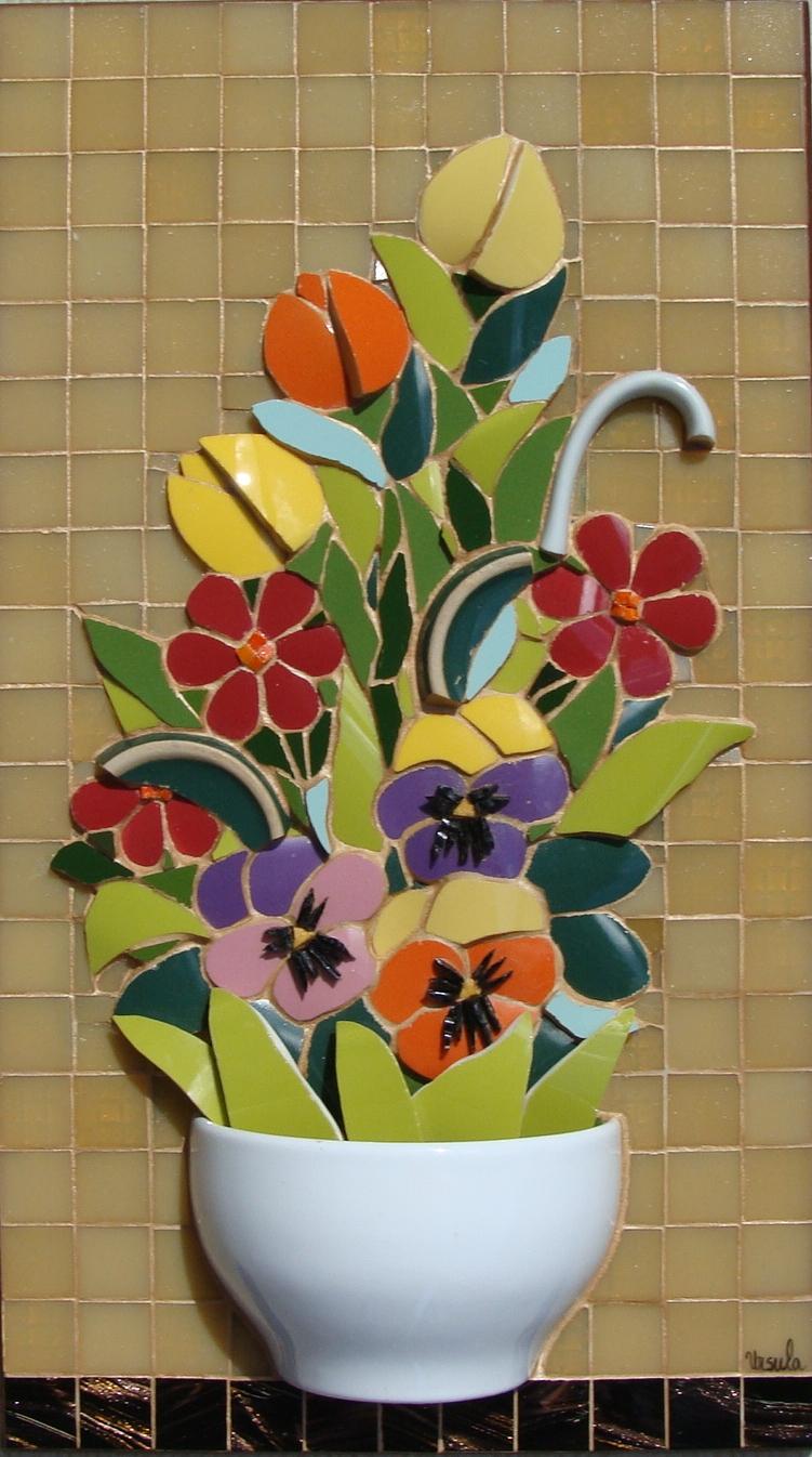 Mueble Aparador Jardin ~ VENDIDO Mosaicos Ursula Schmaelter Elo7