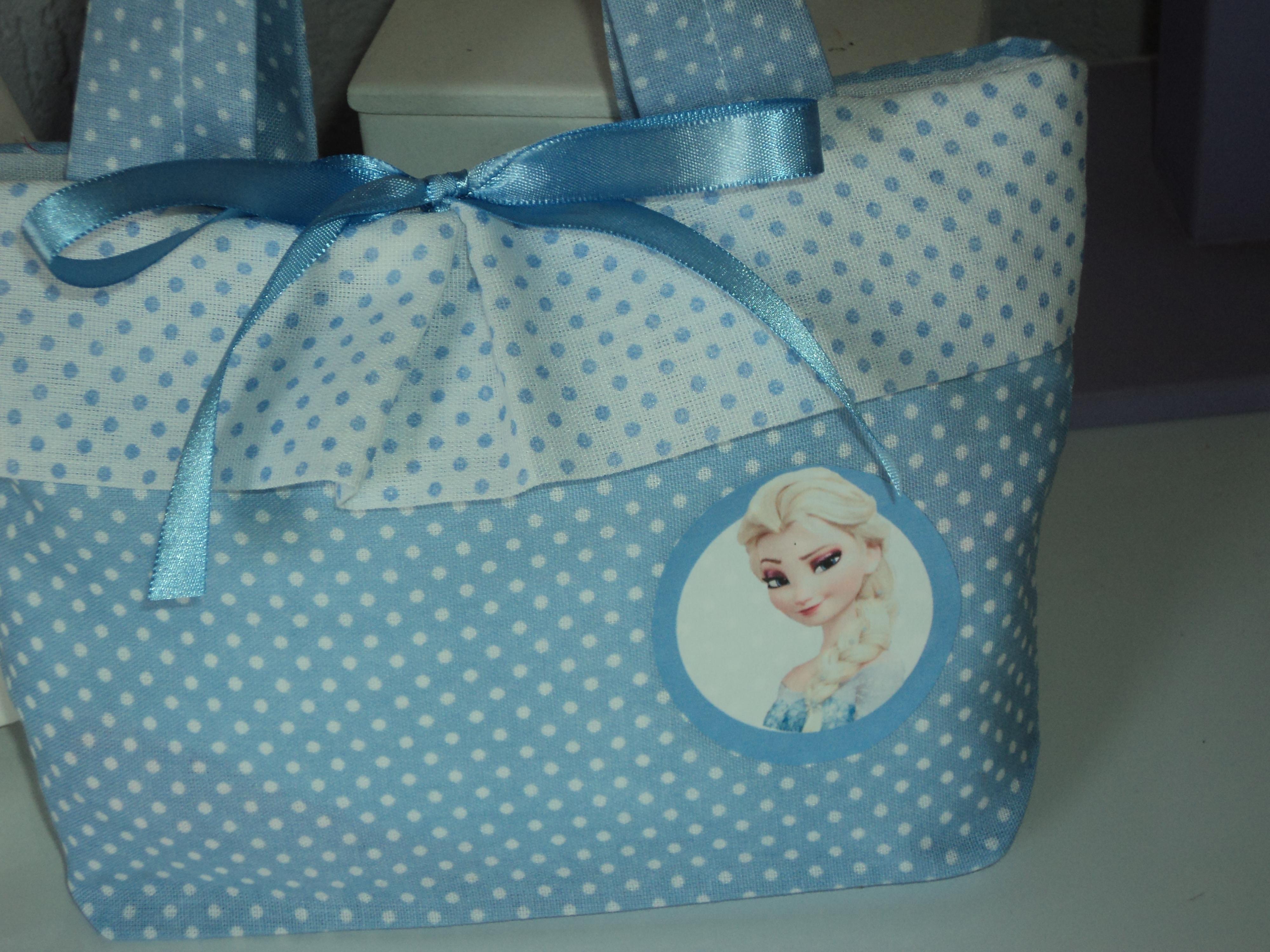 Bolsa De Tecido Frozen : Bolsinha elza frozen mirlene vieira artesanato e