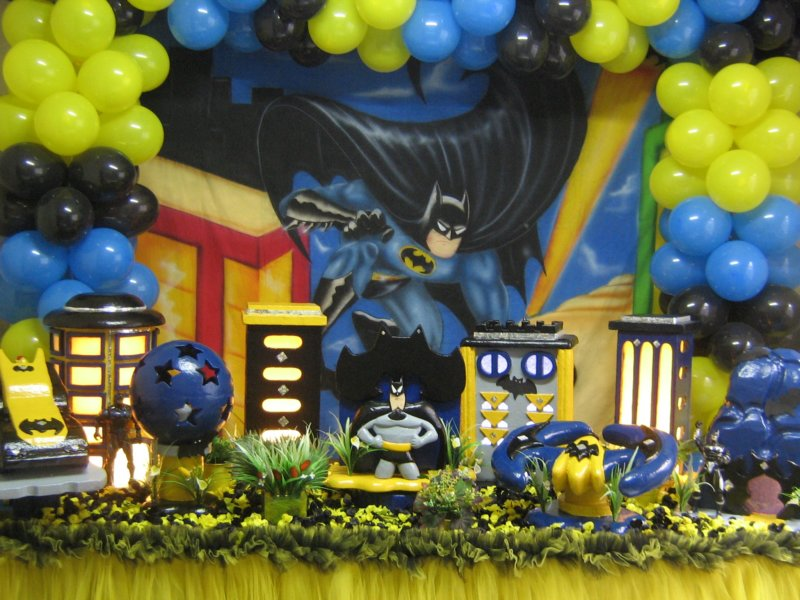 decoracao festa batman : decoracao festa batman:festa-batman-locacao-e-vendas-decoracao-batman