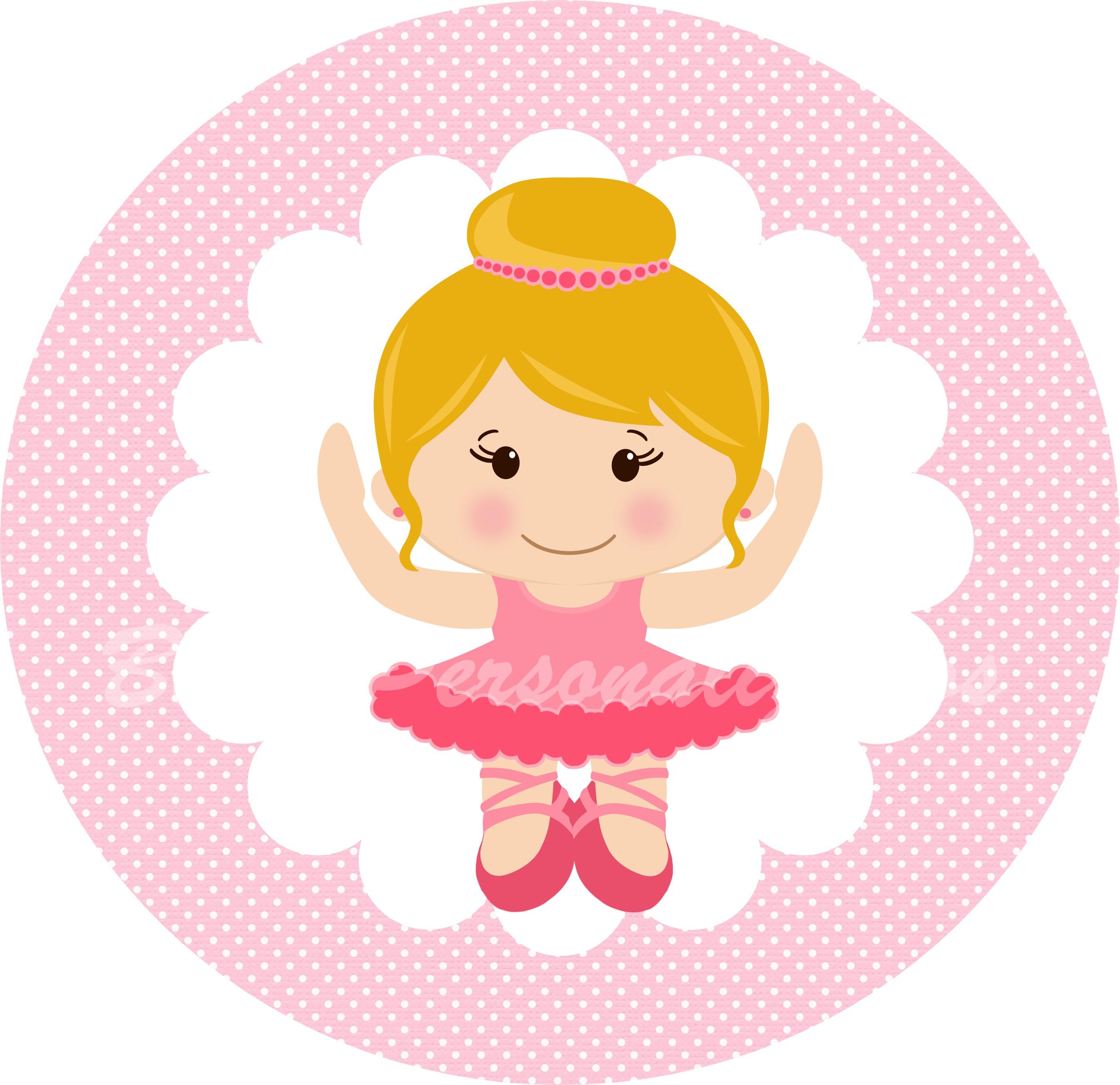 Adesivo De Parede Onde Encontrar ~ Kit Arte Bailarina 010 Karina Convites e Lembranças Personalizadas Elo7