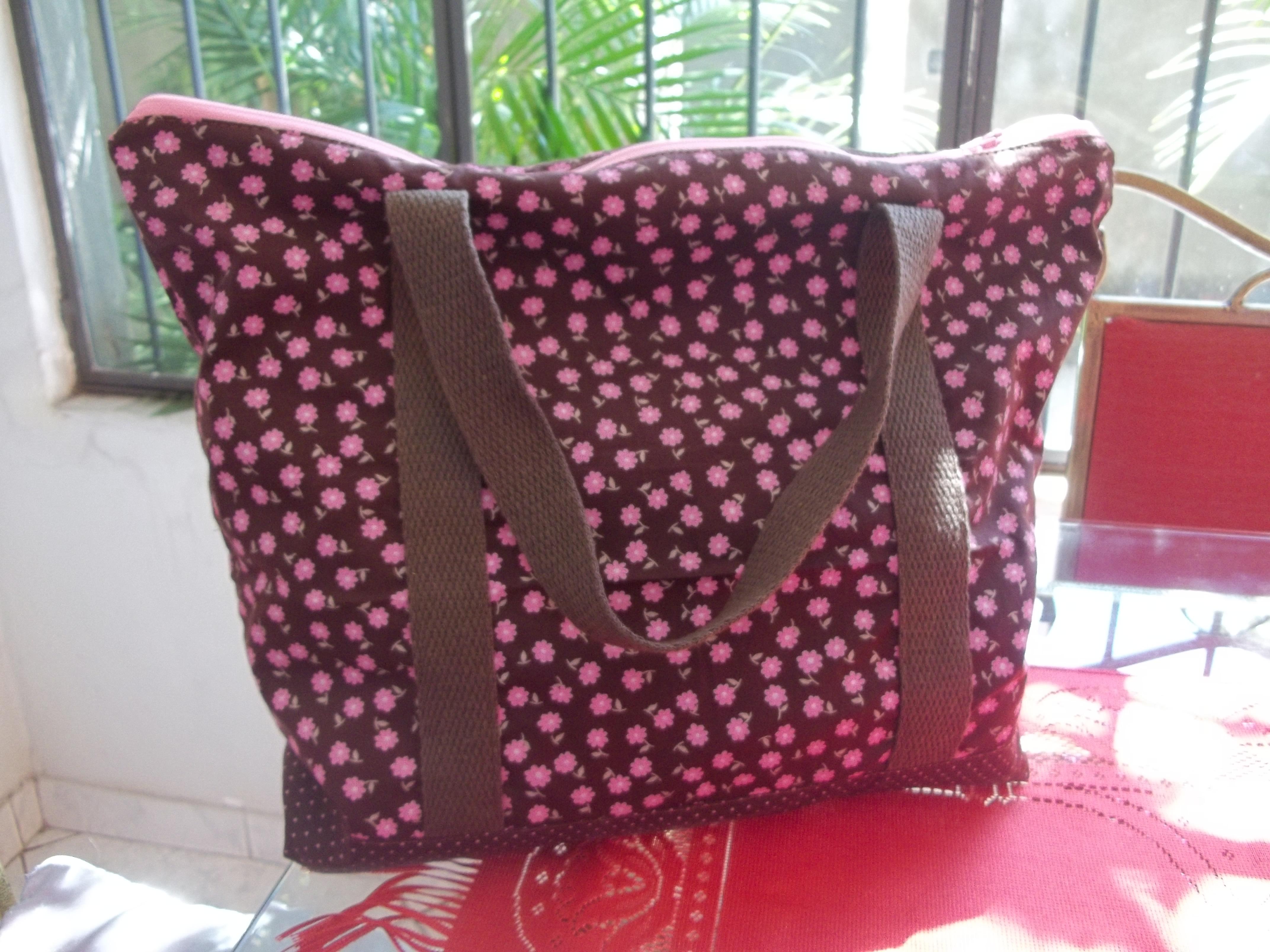 Bolsa De Tecido Com Ziper : Bolsa de tecido com z?per objetos especiais elo