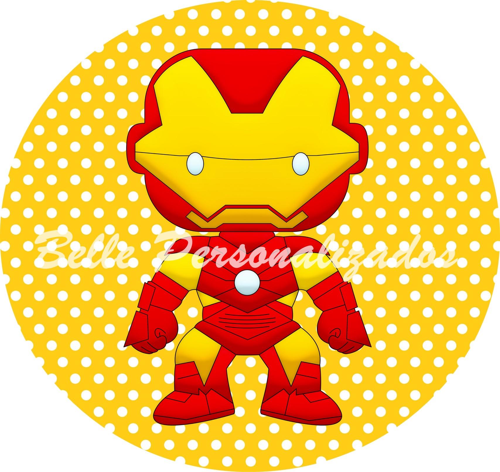Como Conseguir Adesivo De Idoso ~ Adesivo Homem de Ferro Ateli u00ea Belle Personalizados Elo7