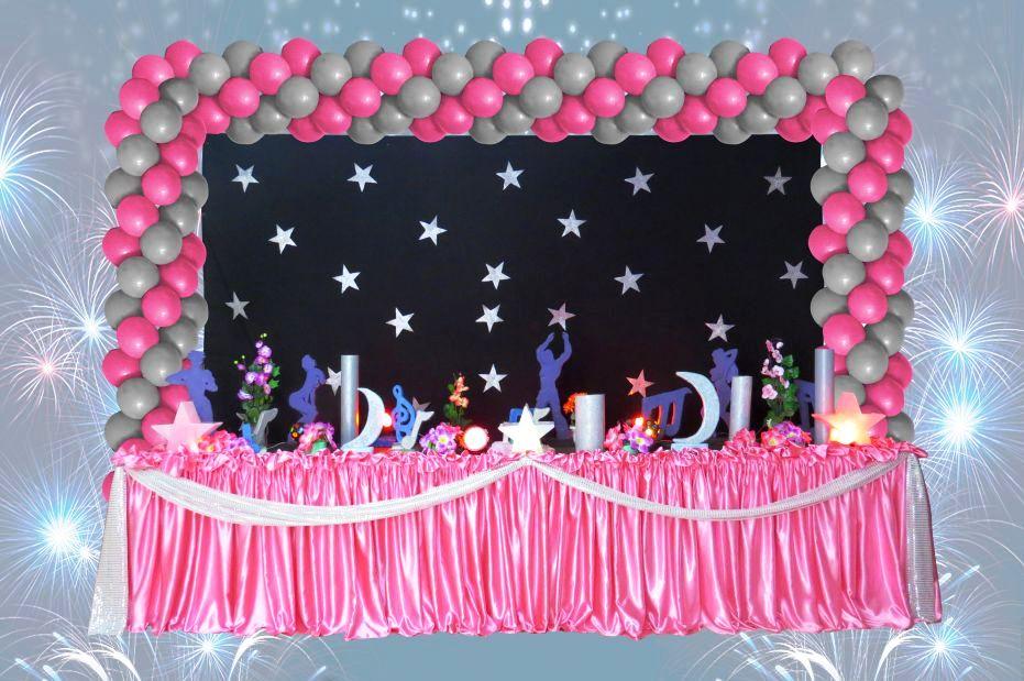 decoracao festa balada infantil:Festa Infantil Decoração Balada Teen Roxa Provençal Festa Pictures