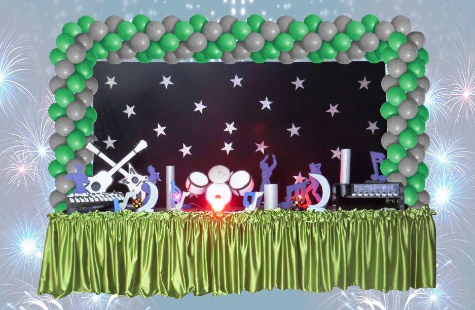 decoracao festa balada infantil:decoracao infantil tema tenn balada festas decoracao infantil tema