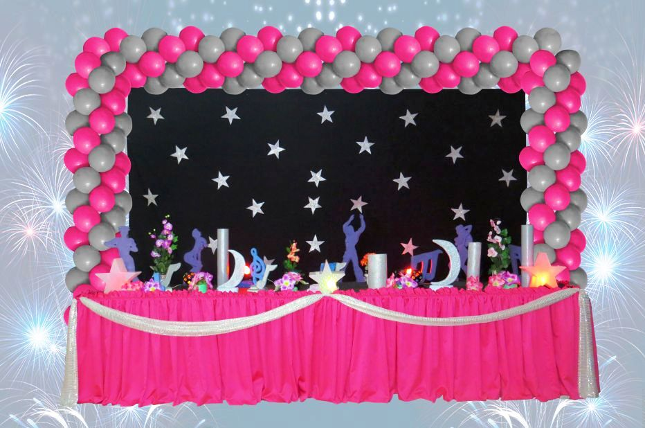decoracao festa balada infantil:decoracao-infantil-tema-tenn-balada-infantil