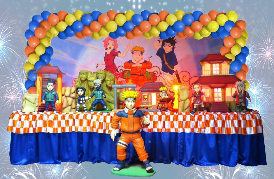 decoracao festa naruto: infantil Naruto