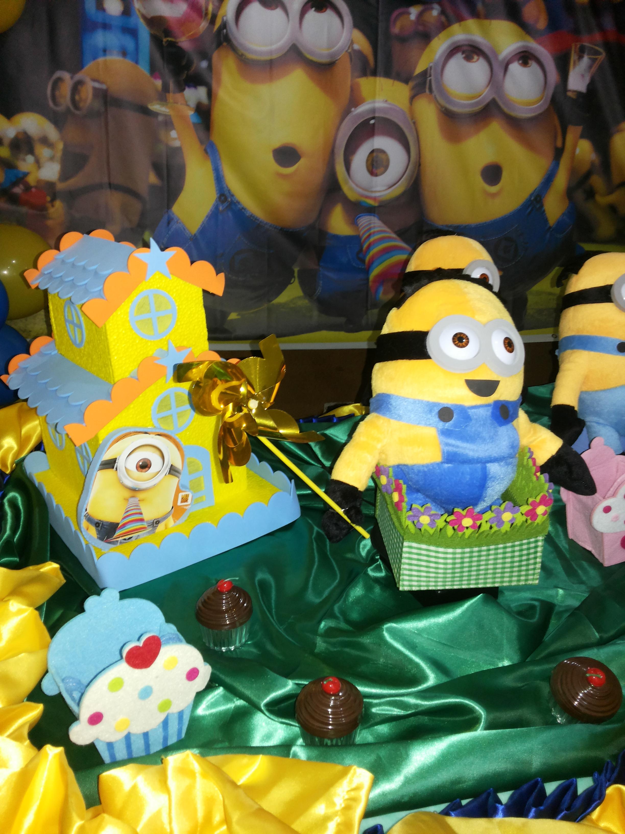 decoracao festa minions : decoracao festa minions:decoracao-de-festa-minions-meu-malvado-favorito decoracao-de-festa