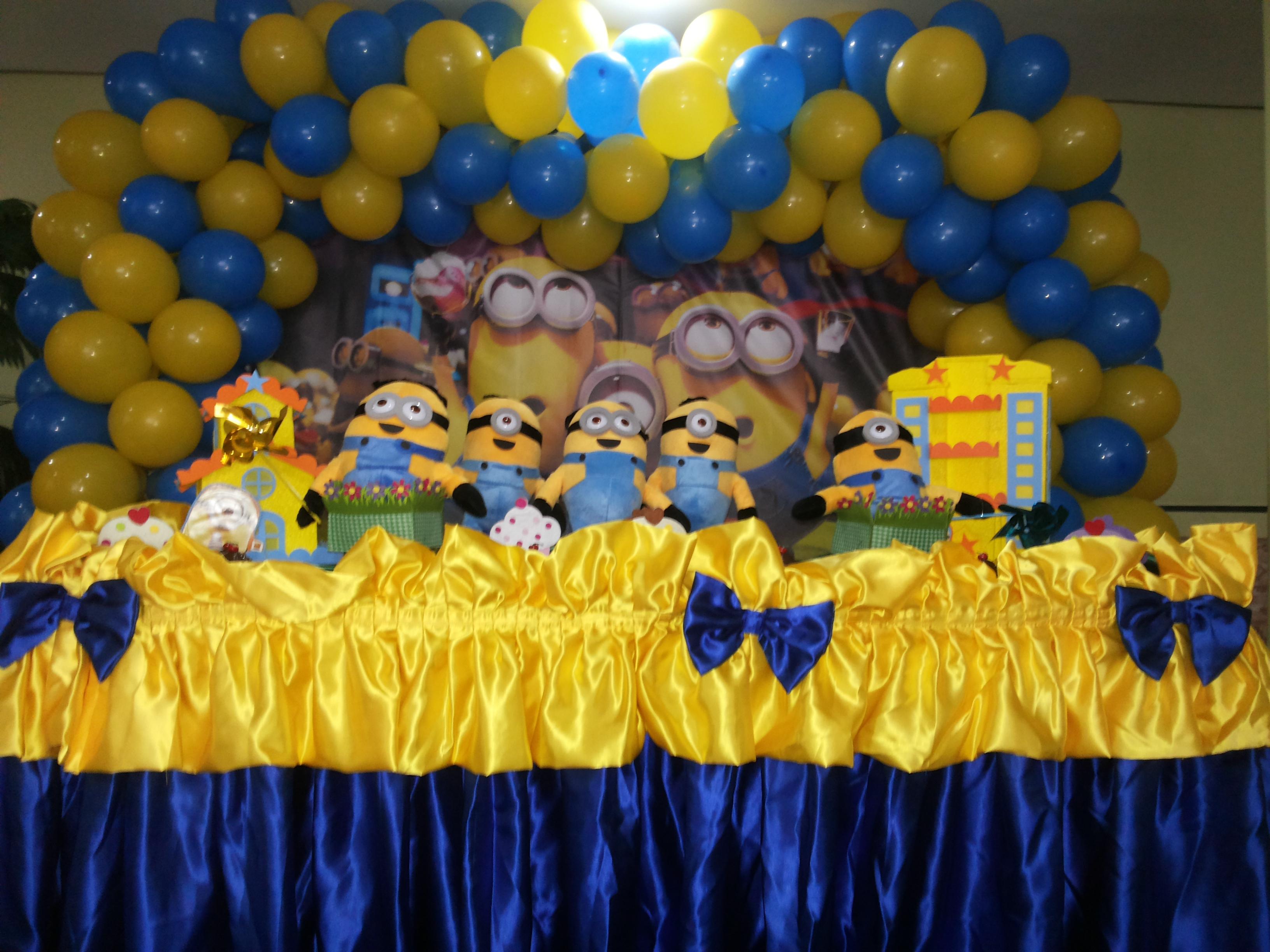 decoracao festa minions:decoracao-de-festa-minions-malvado-favorito decoracao-de-festa-minions