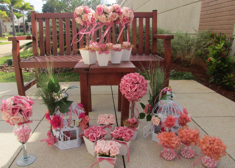 festa jardim encantado decoracao provencal:Kit festa jardim encantado rosa e pink I