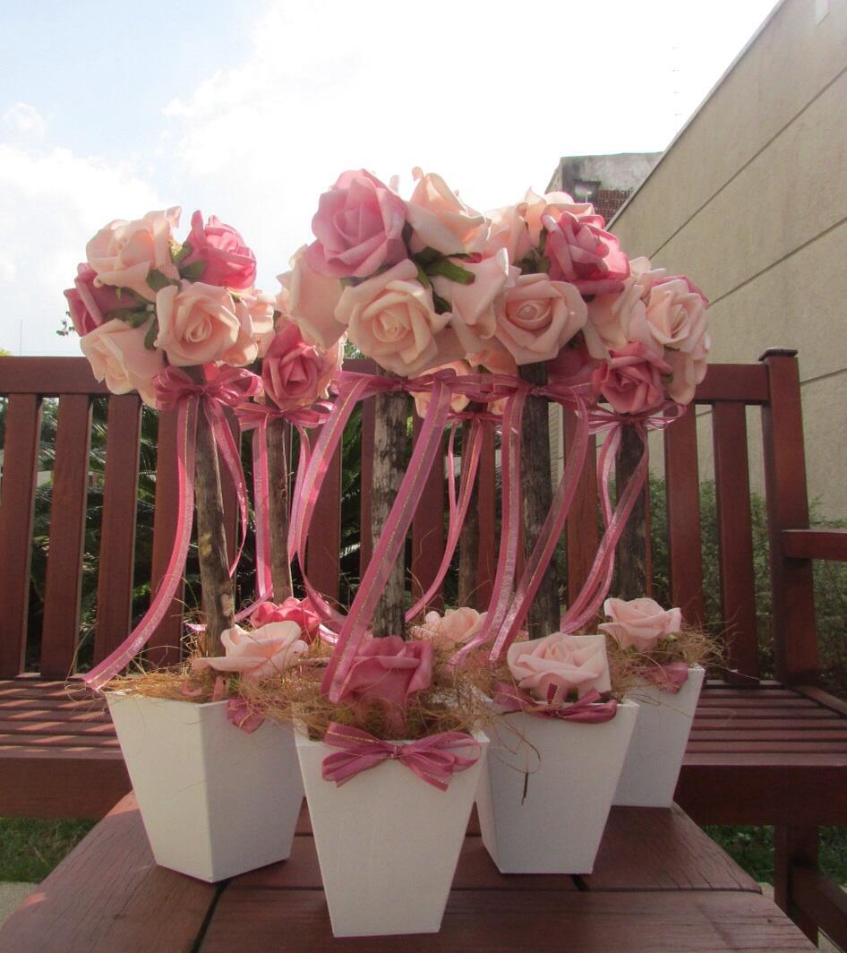 Kit festa jardim encantado rosa e pink I Rosamorena ...